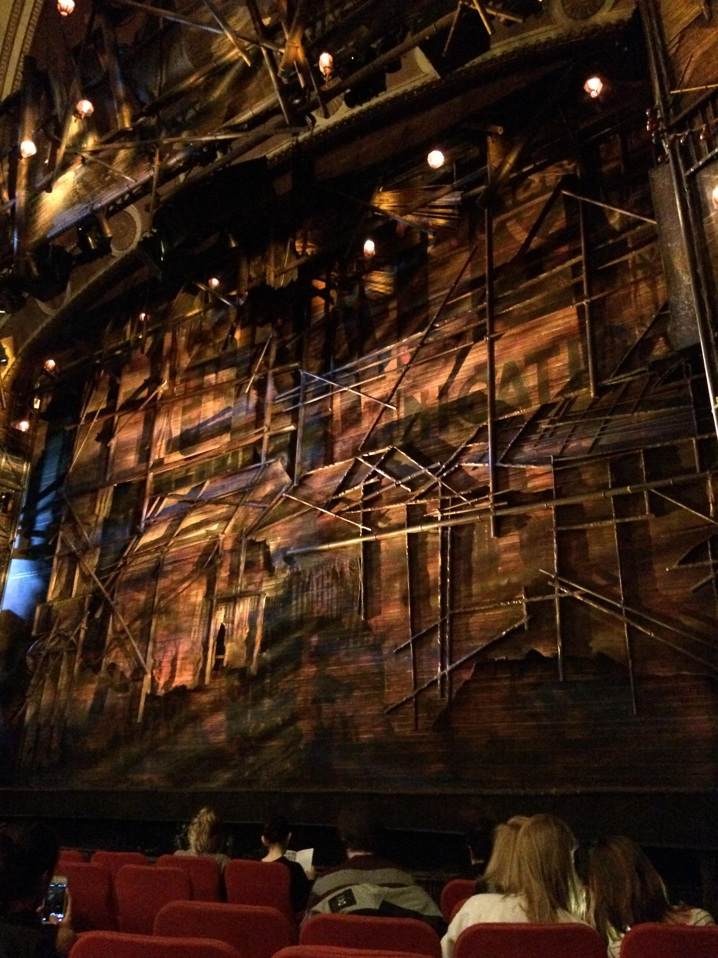 Broadway Theatre - 53rd Street Section Orchestra R Row H Seat 11