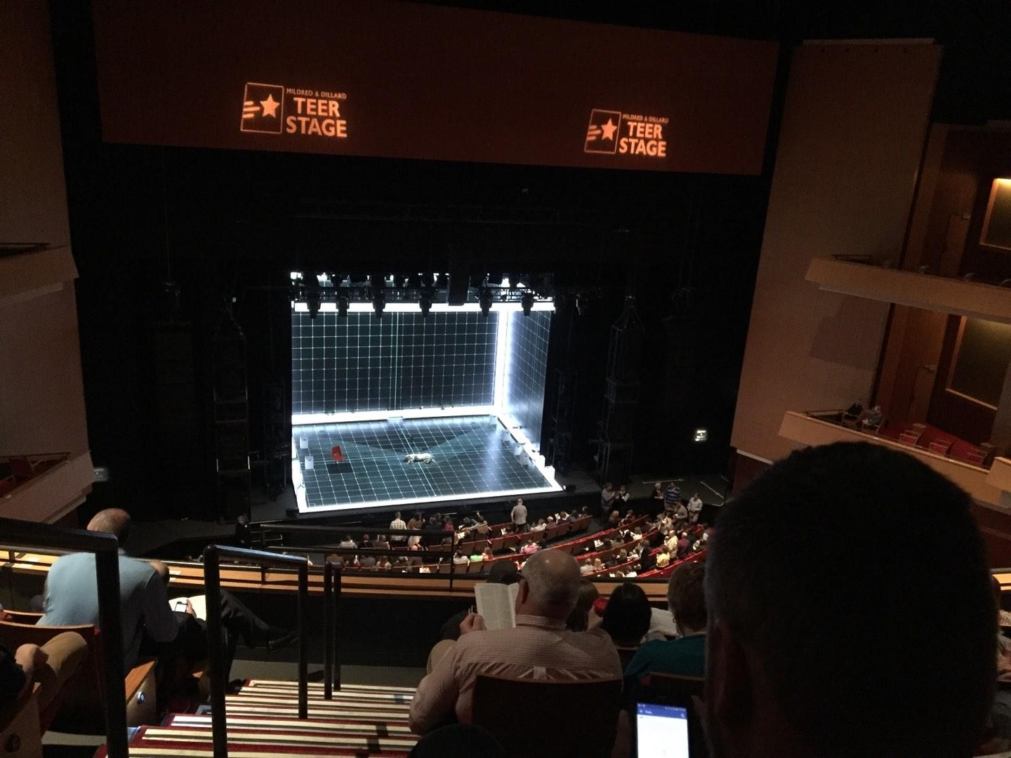 Durham Performing Arts Center Section Balcony 9 Row F Seat 131