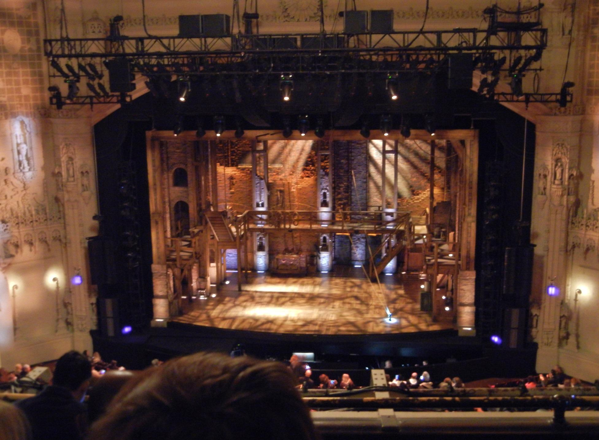 Orpheum Theatre (San Francisco) Section Balcony C Row D Seat 213