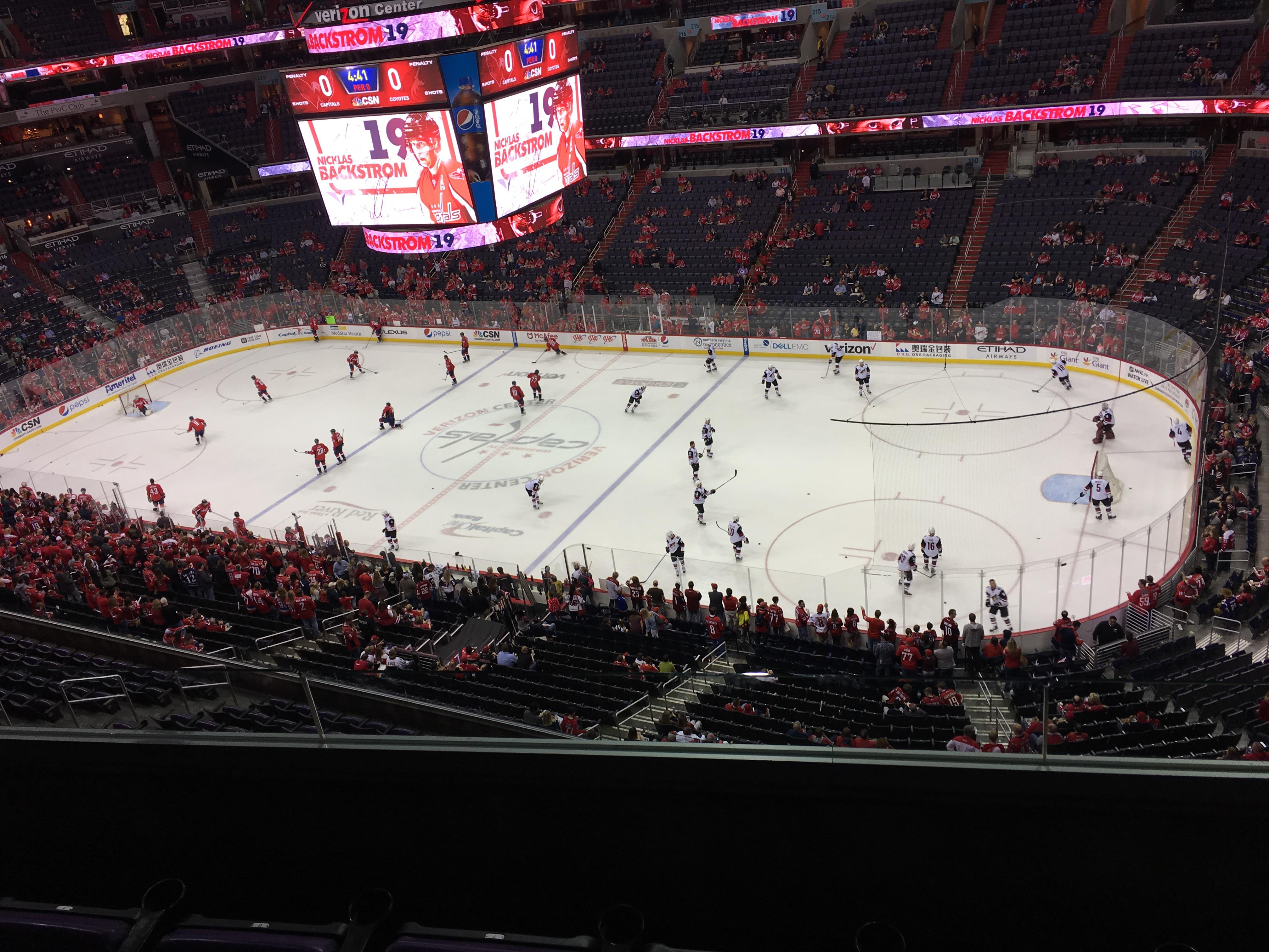 Capital One Arena Section 403 Row C Seat 10