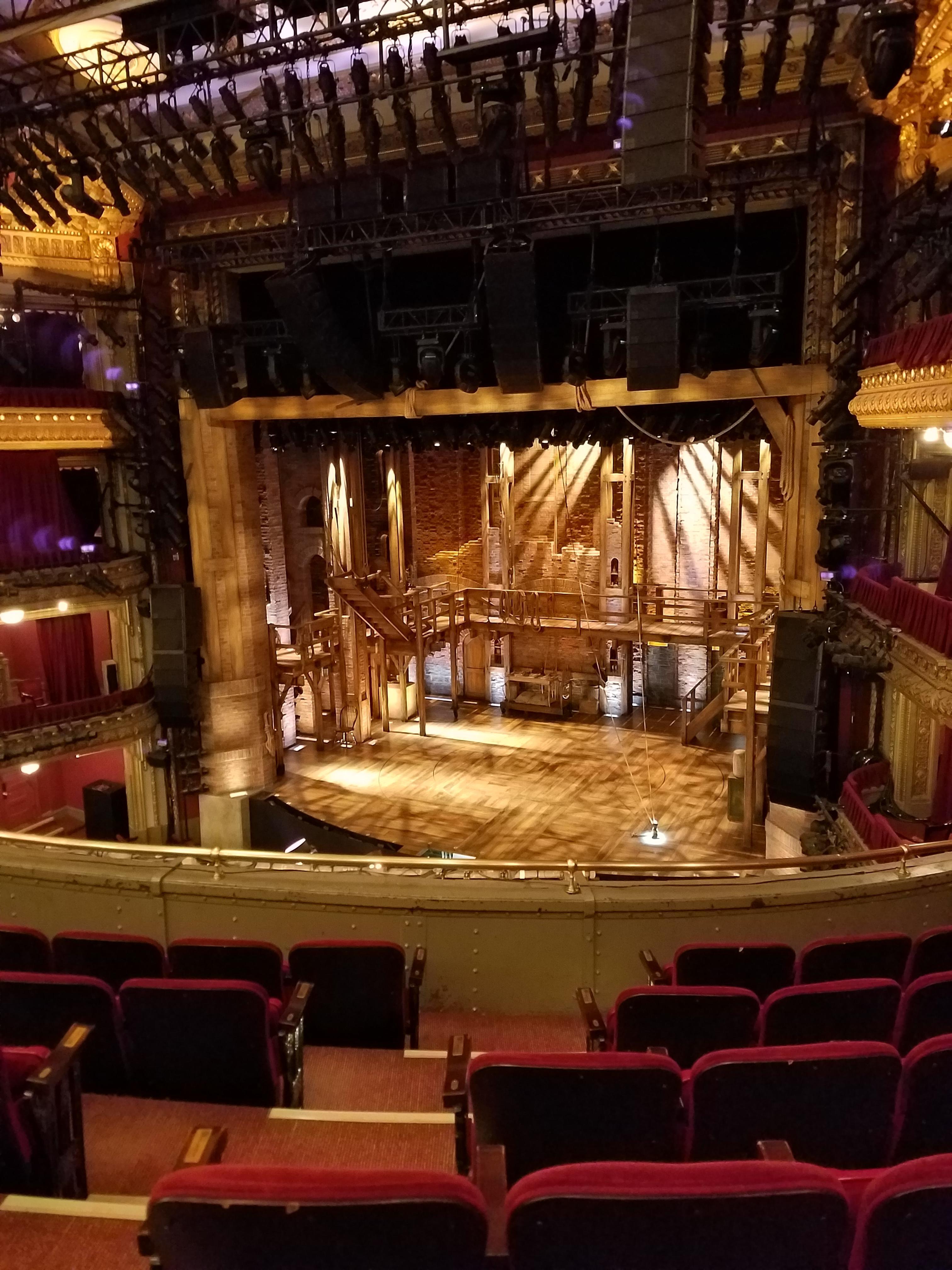 CIBC Theatre Section Mezzanine R Row F Seat 6