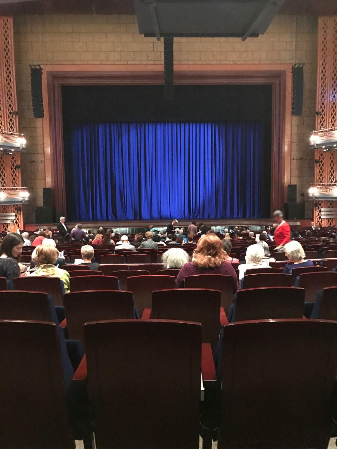 Walt Disney Theatre - Dr. Phillips Center Section Upper Orchestra C Row W Seat 114