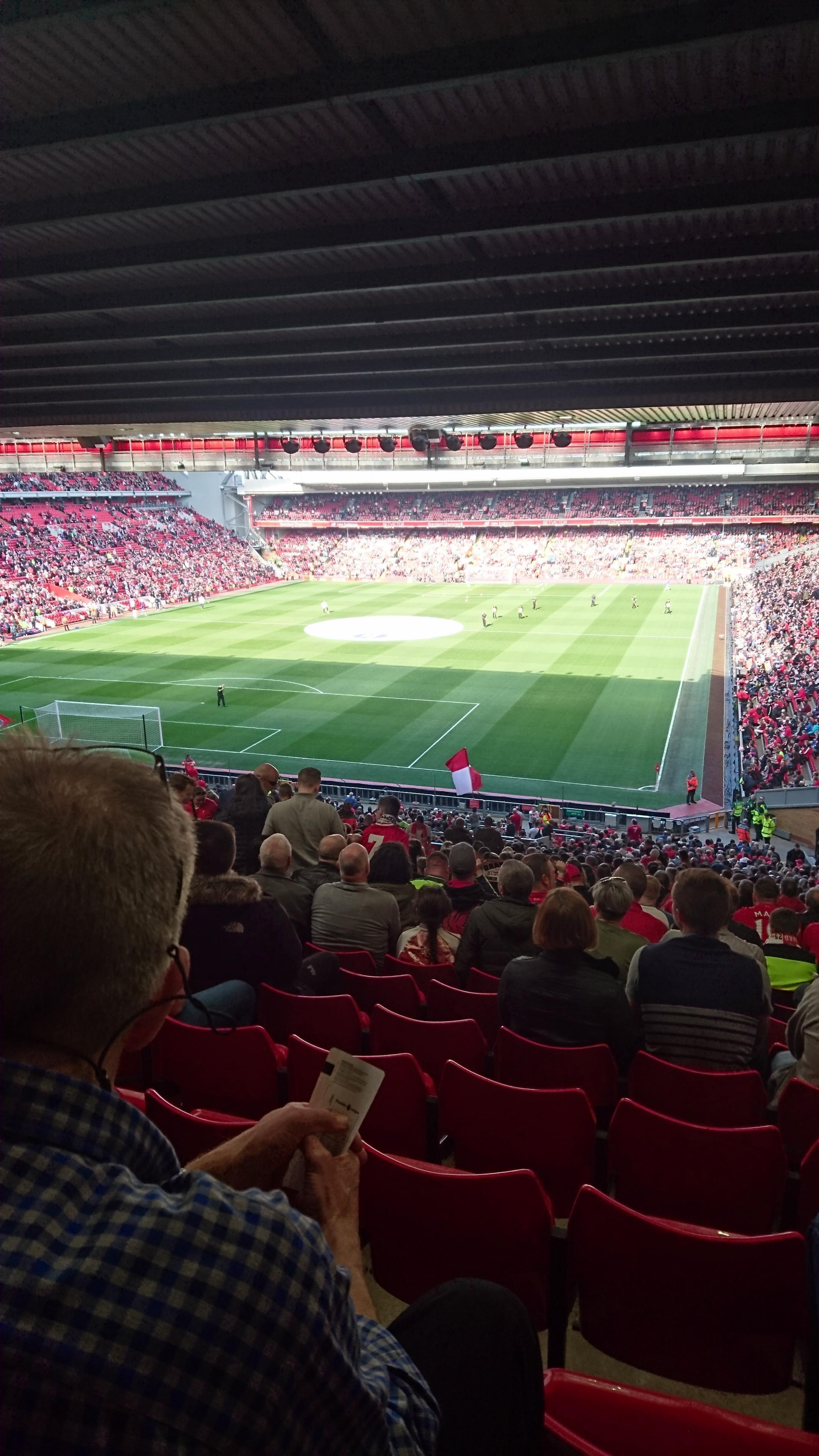 Anfield Section 207 Row 61 Seat 32
