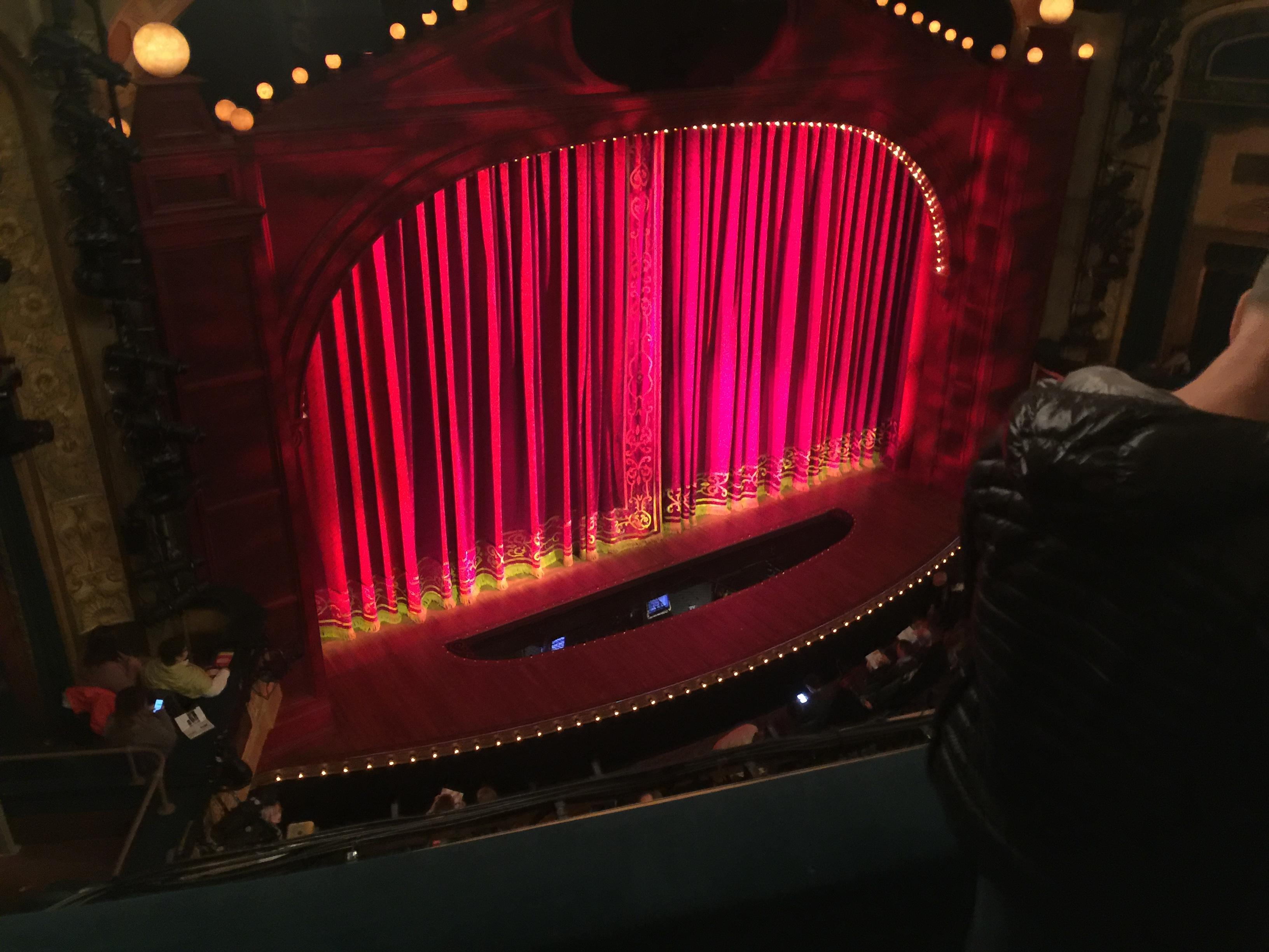 Shubert Theatre Section Balcony L Row C Seat 15