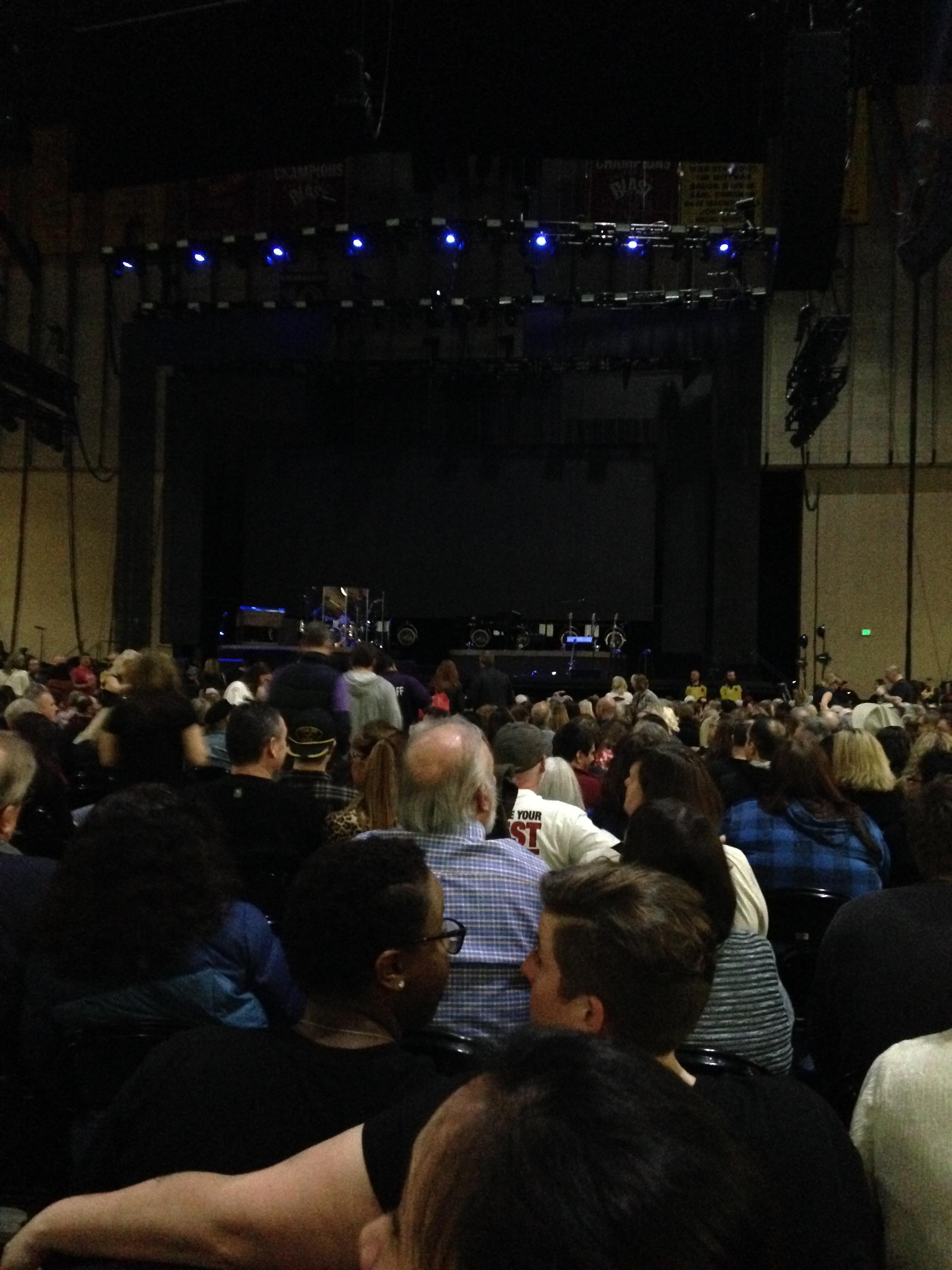 Royal Farms Arena Section Floor 1 Row DD Seat 10