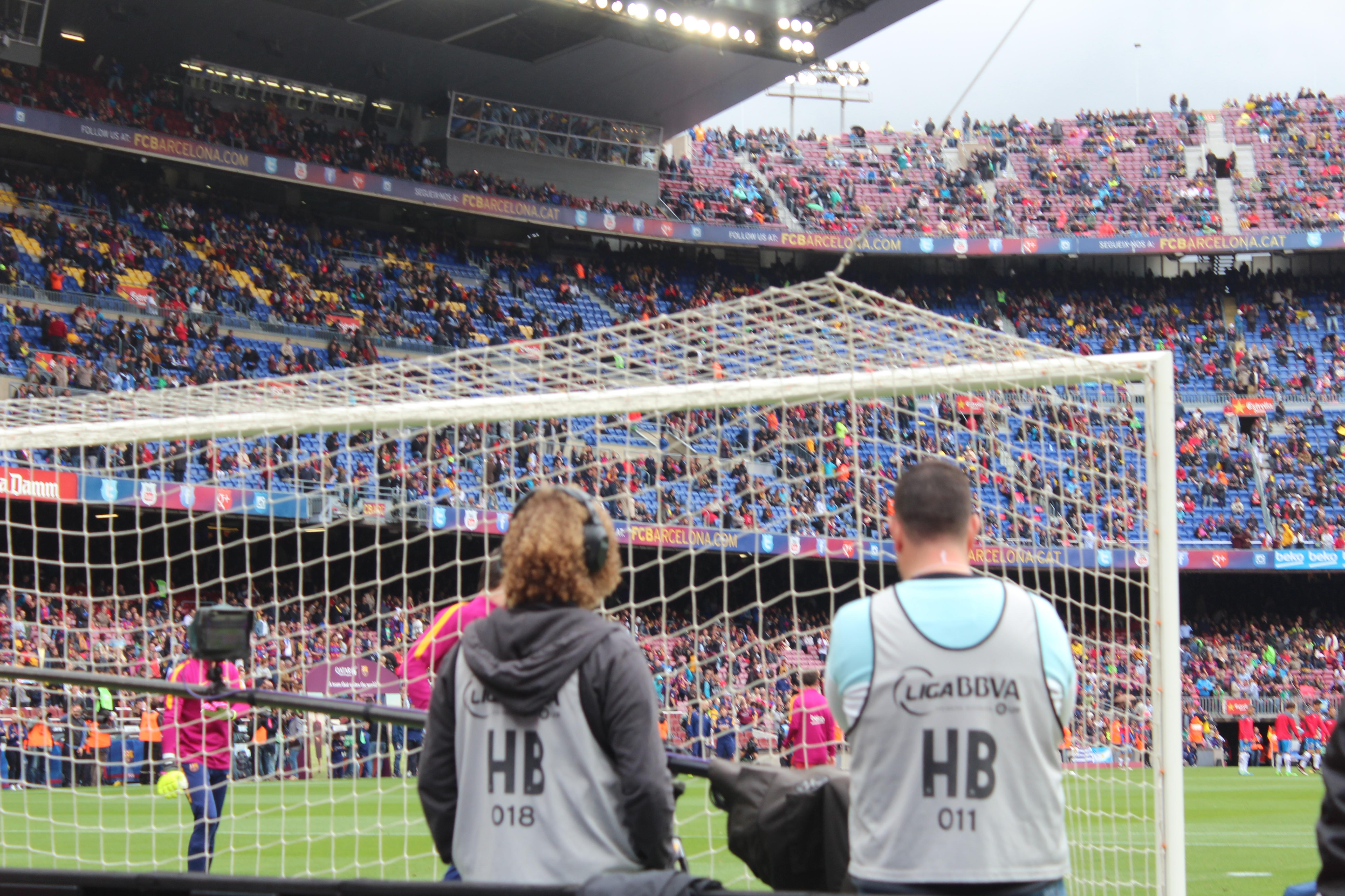 Camp Nou Section 123 Row 2 Seat 12