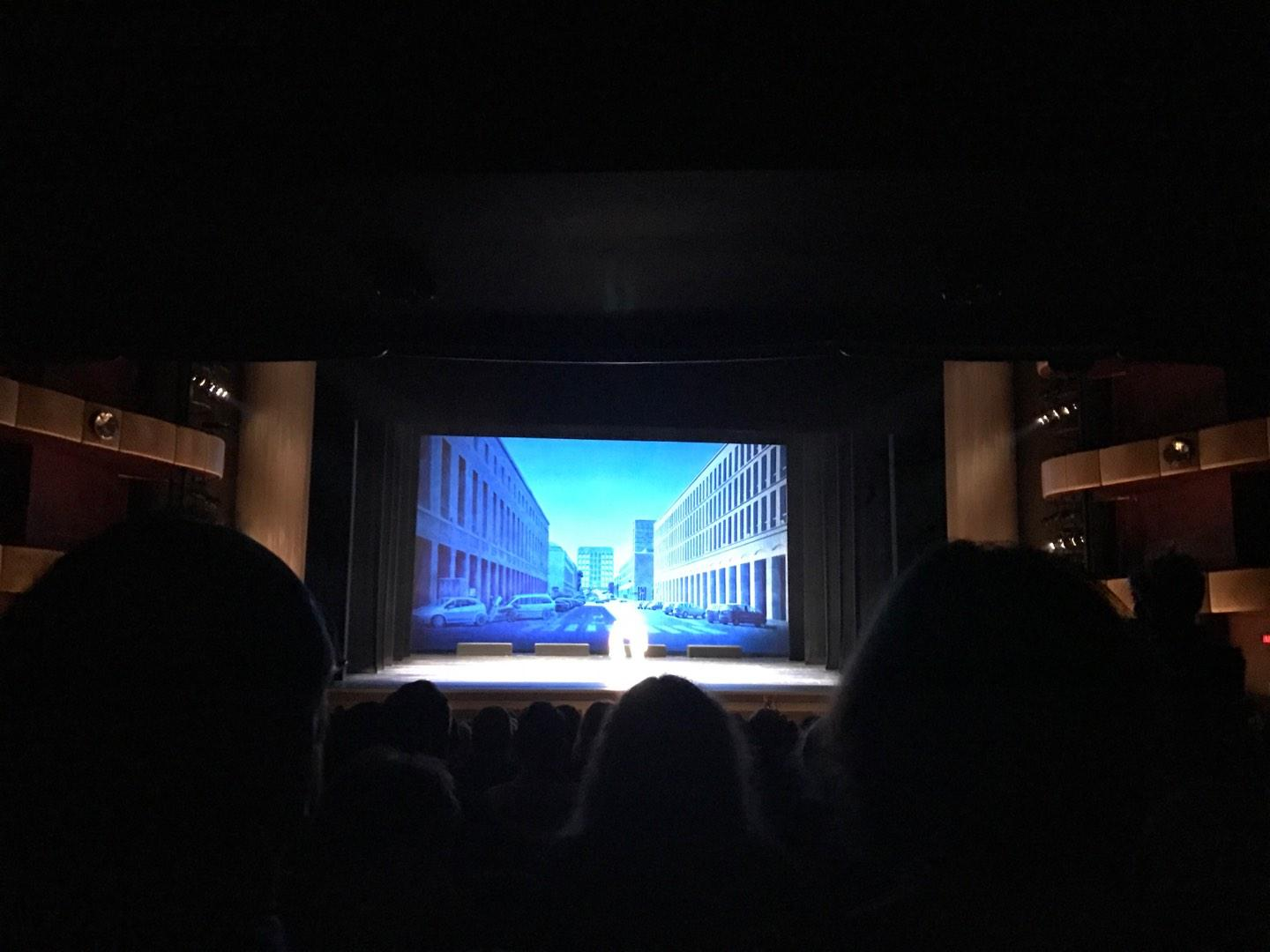 David H. Koch Theater Section Orchestra Row U Seat 115