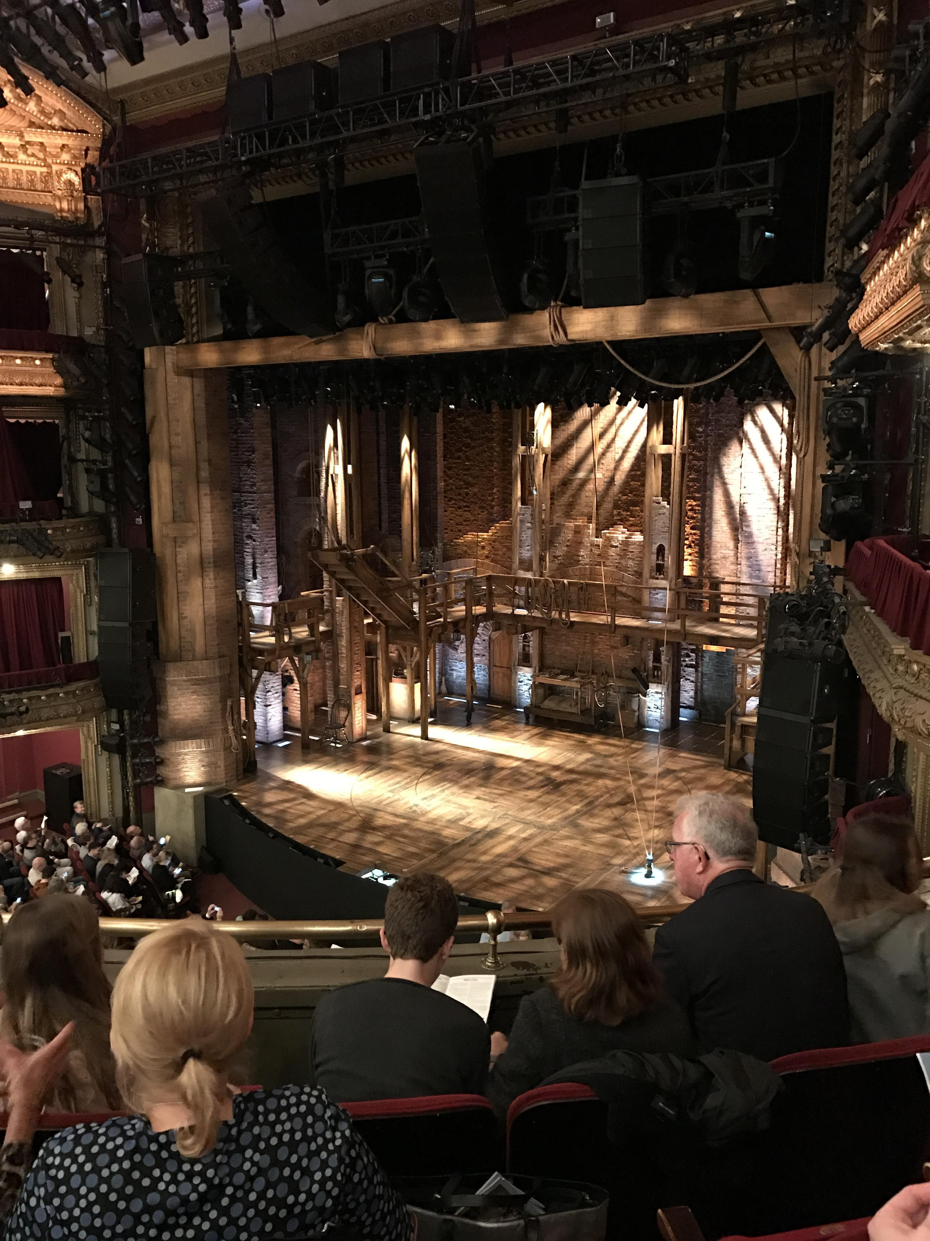 CIBC Theatre Section Mezzanine R Row D Seat 14