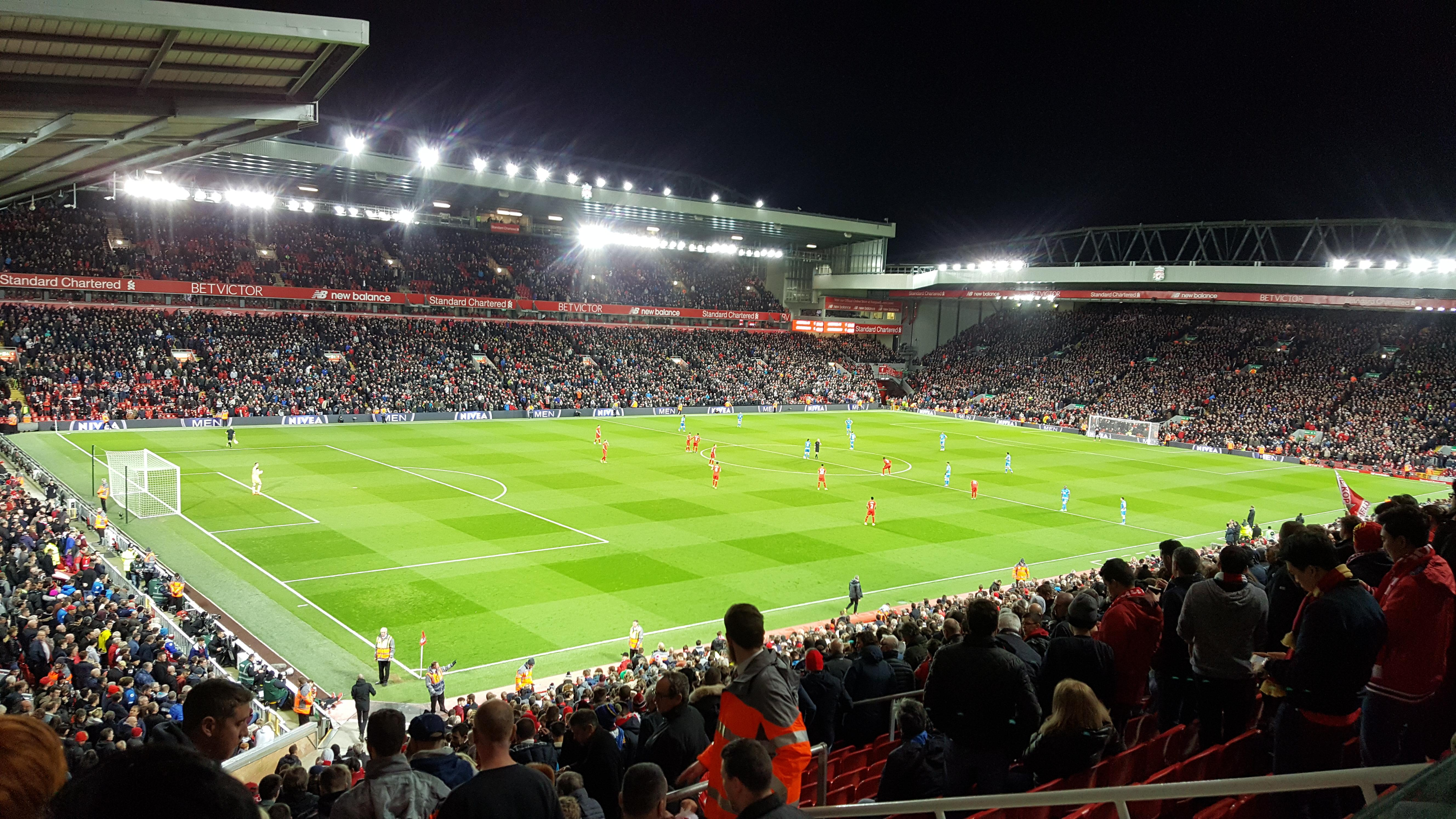 Anfield Section L1 Row 41