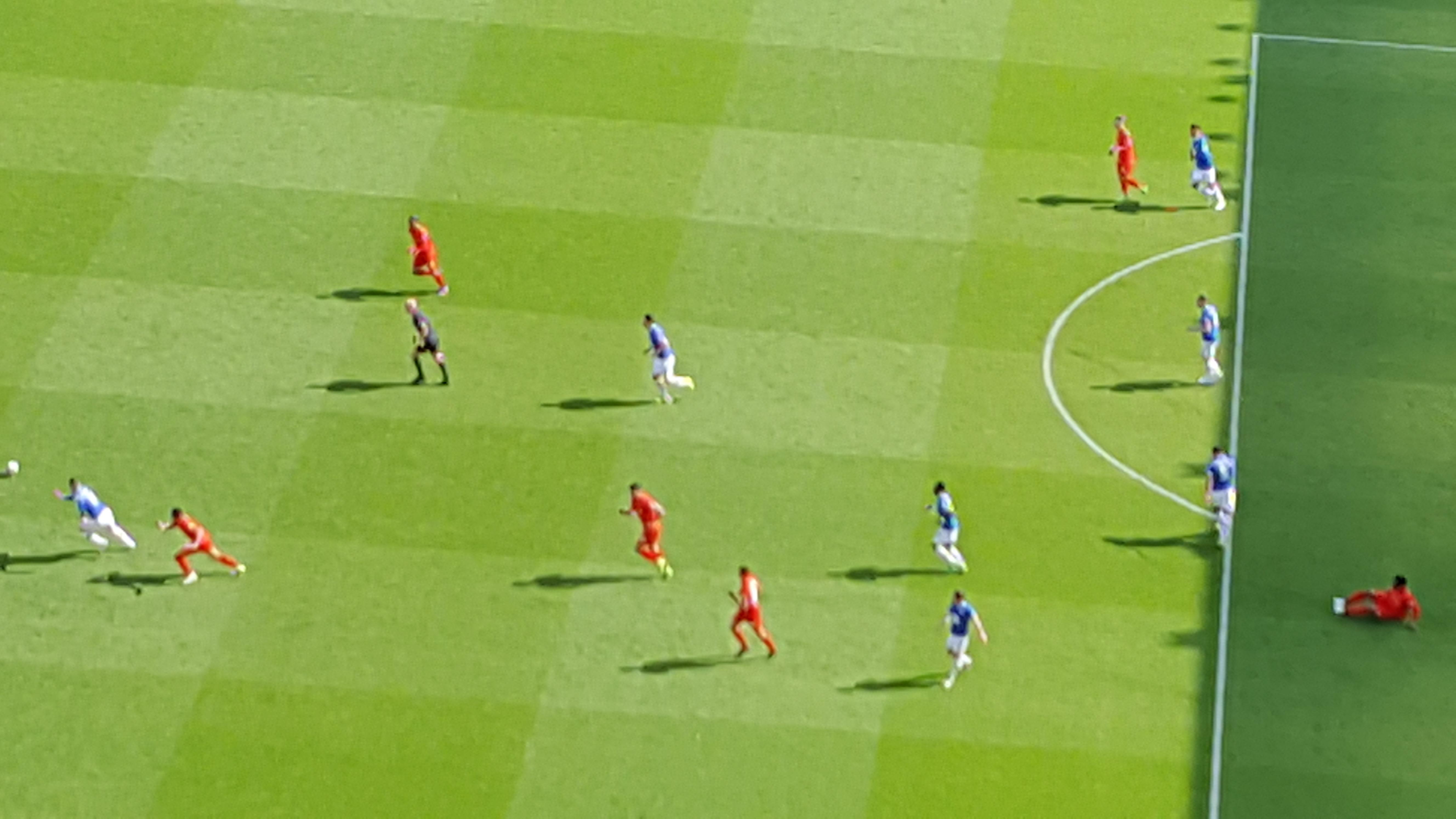 Anfield Section U7 Row 92