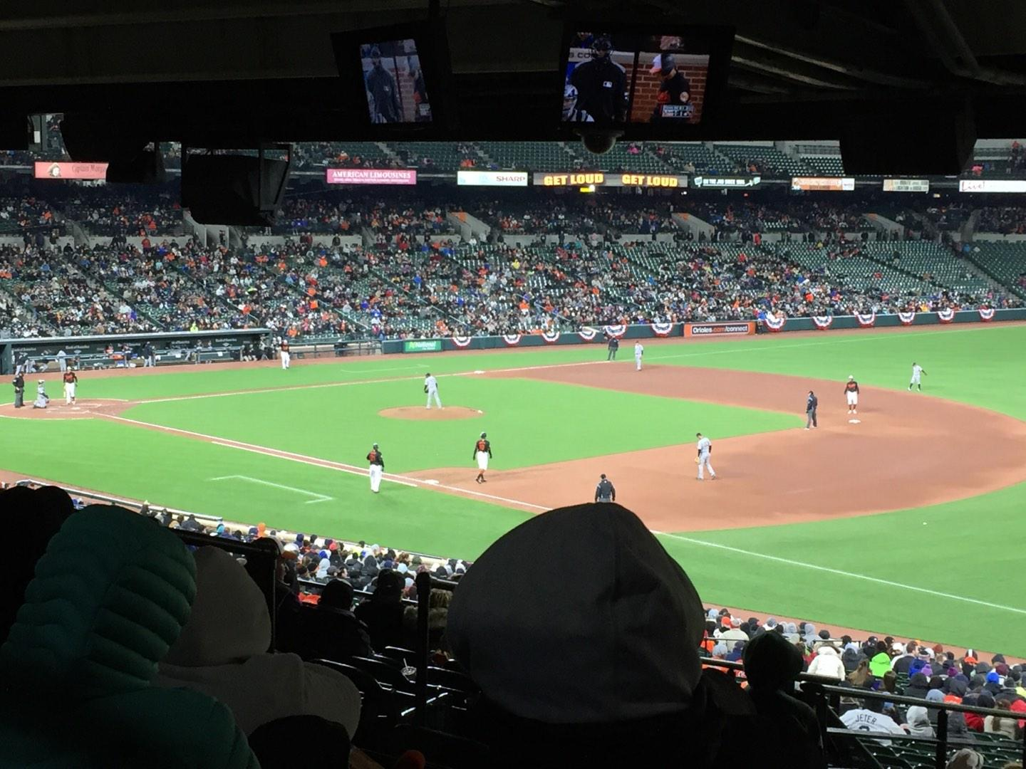 Oriole Park at Camden Yards Section 11 Row 13 Seat 18