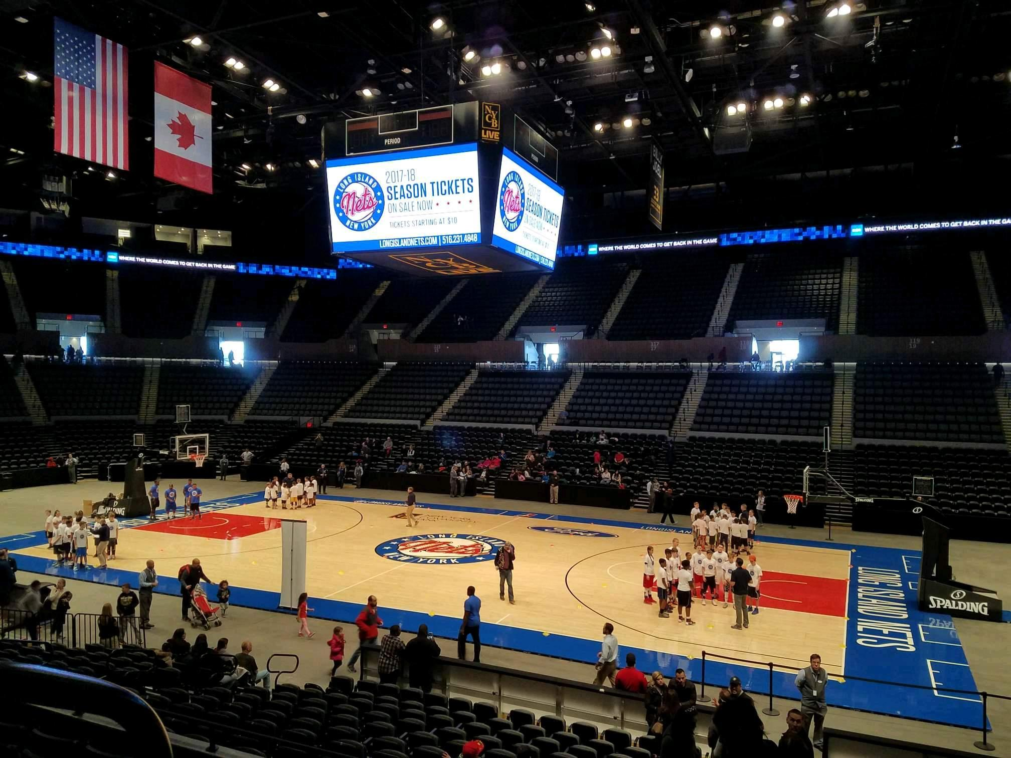 Nassau Veterans Memorial Coliseum Section 101 Row 6 Seat 14