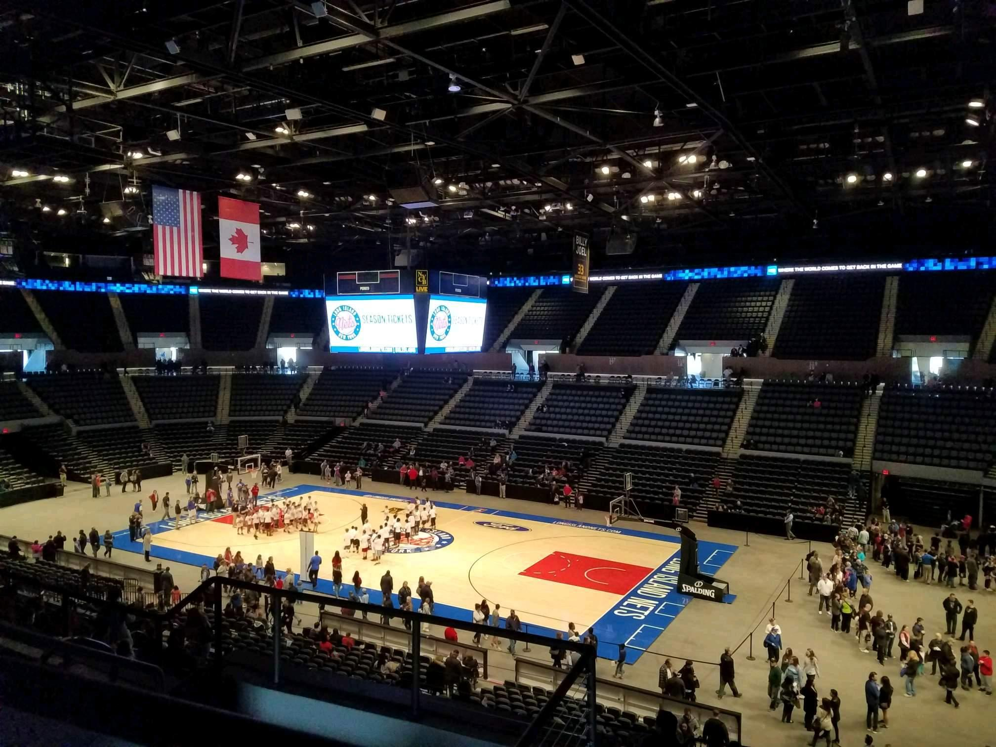 Nassau Veterans Memorial Coliseum Section 240 Row 5 Seat 6