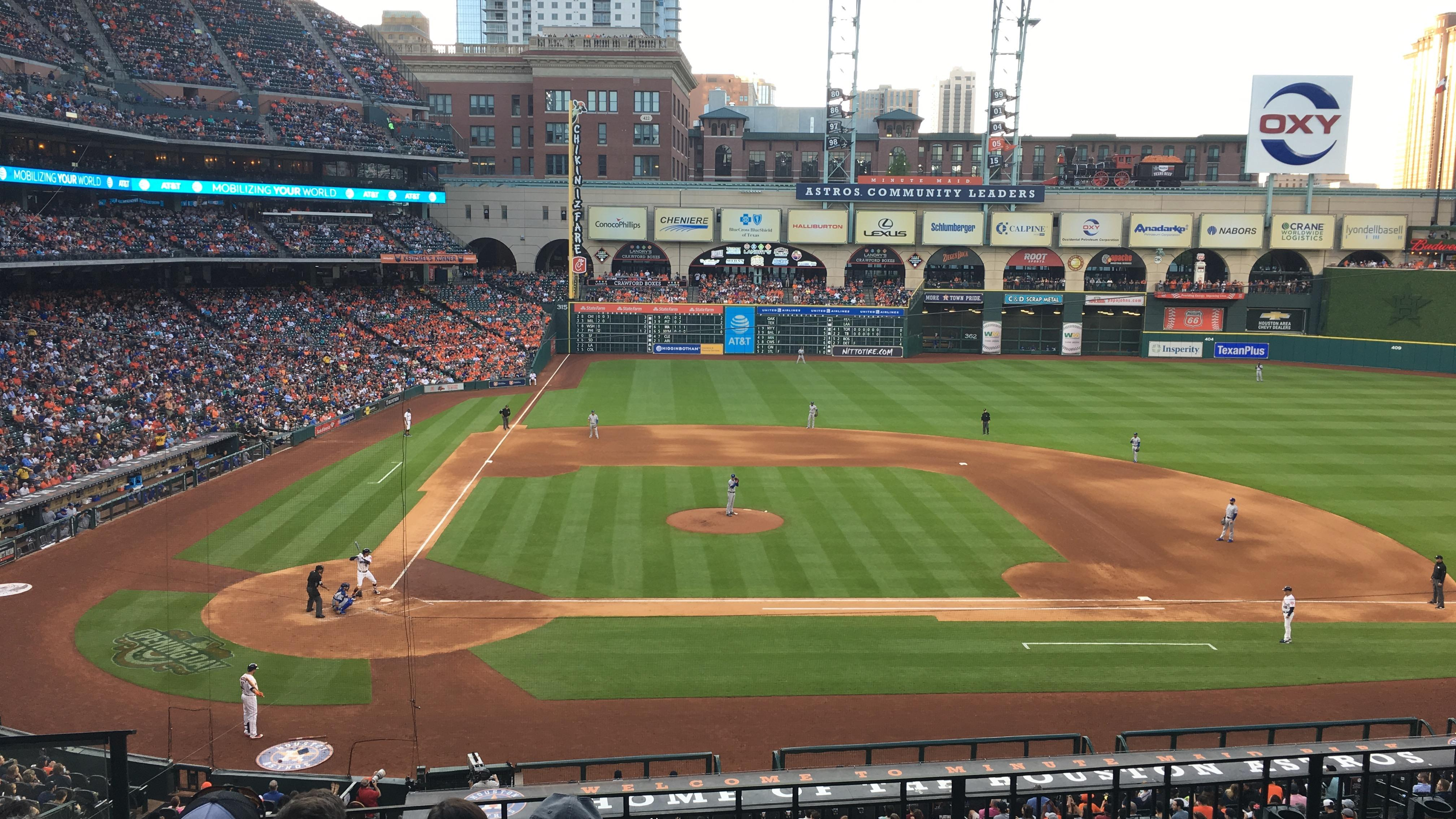 Minute Maid Park Section 224 Row 5 Seat 3