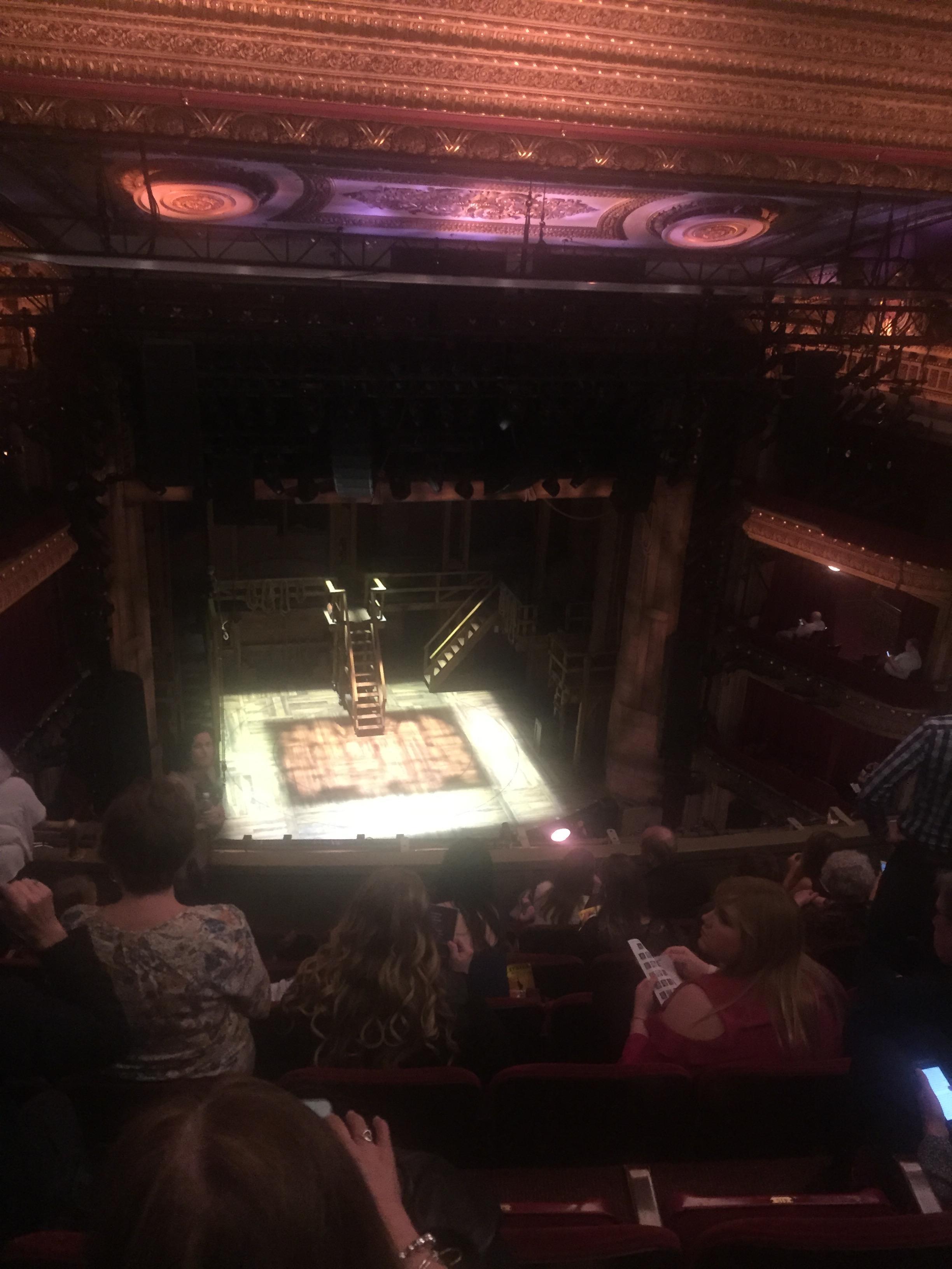 CIBC Theatre Section Balcony RC Row G Seat 417