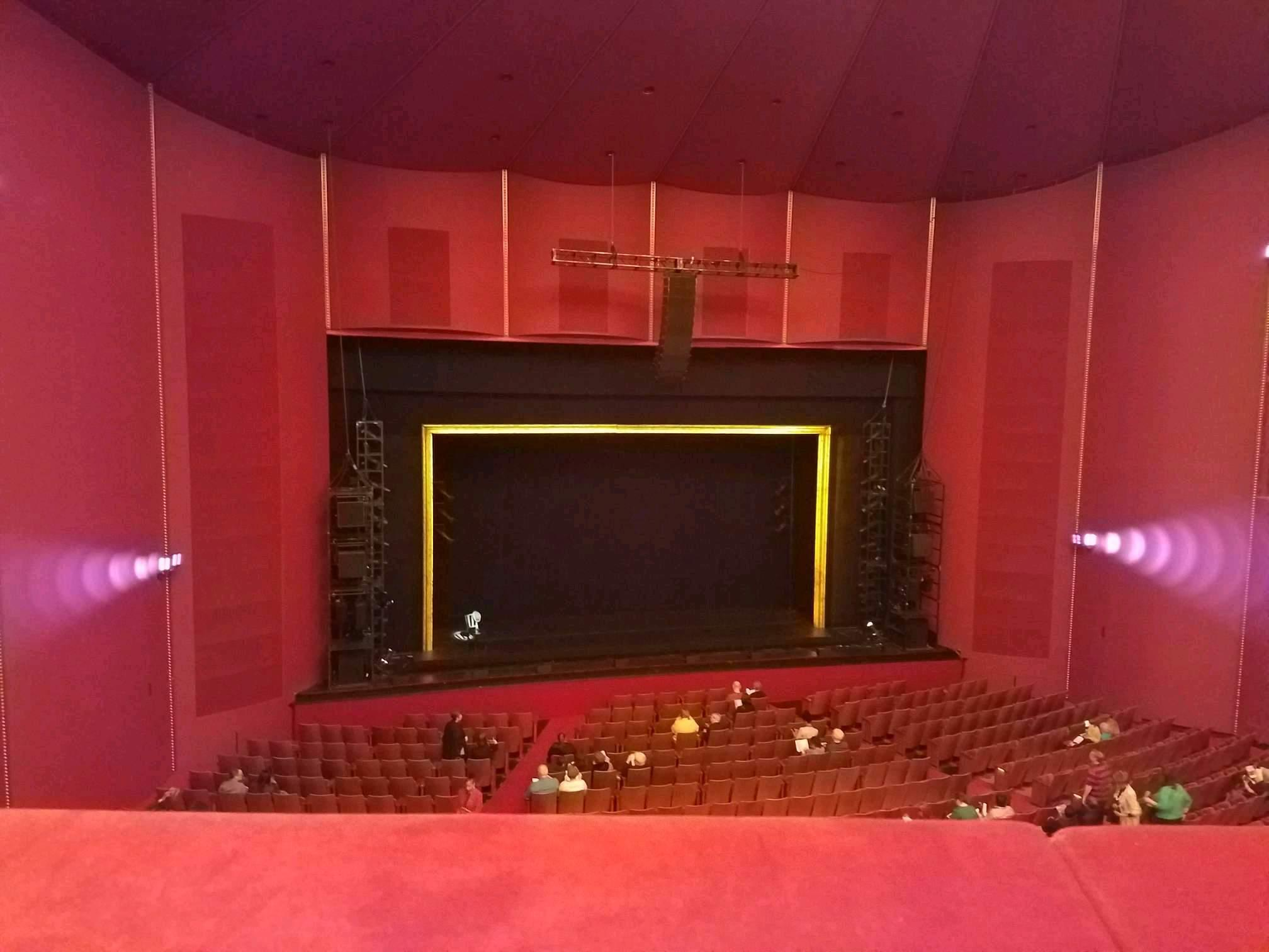 The Kennedy Center Opera House Section Tier 1 LC Row A Seat 109