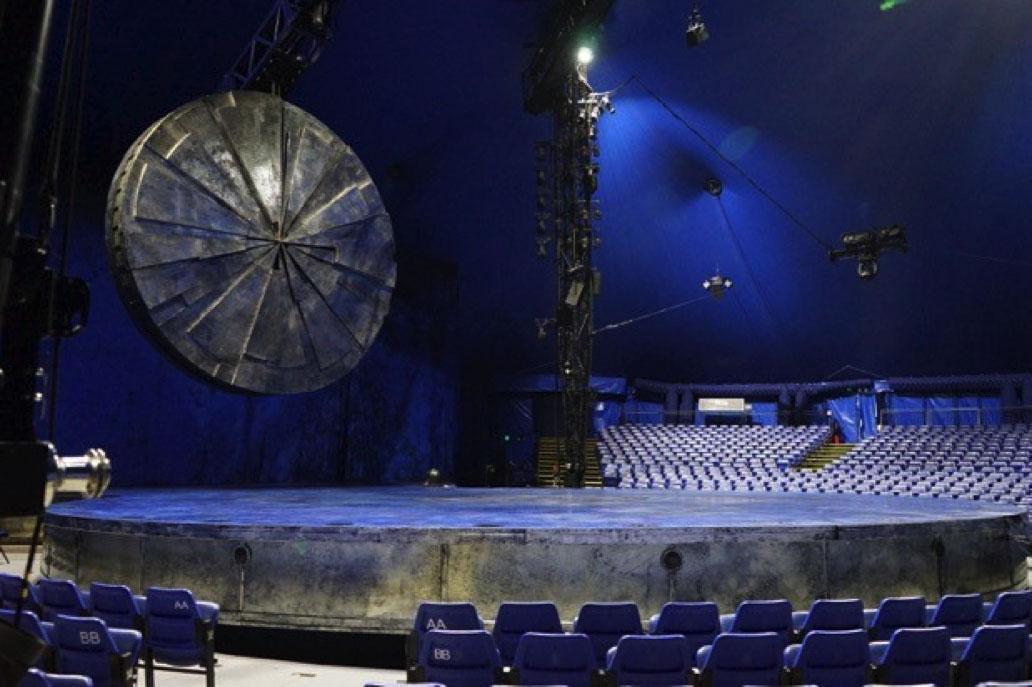 Cirque Du Soleil - Luzia Section 101 Row E Seat 22