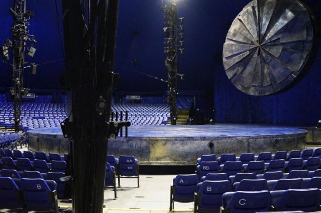 Cirque Du Soleil - Luzia Section 104 Row F Seat 1
