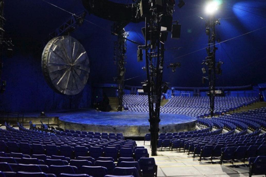 Cirque Du Soleil - Luzia Section 203 Row N Seat 1