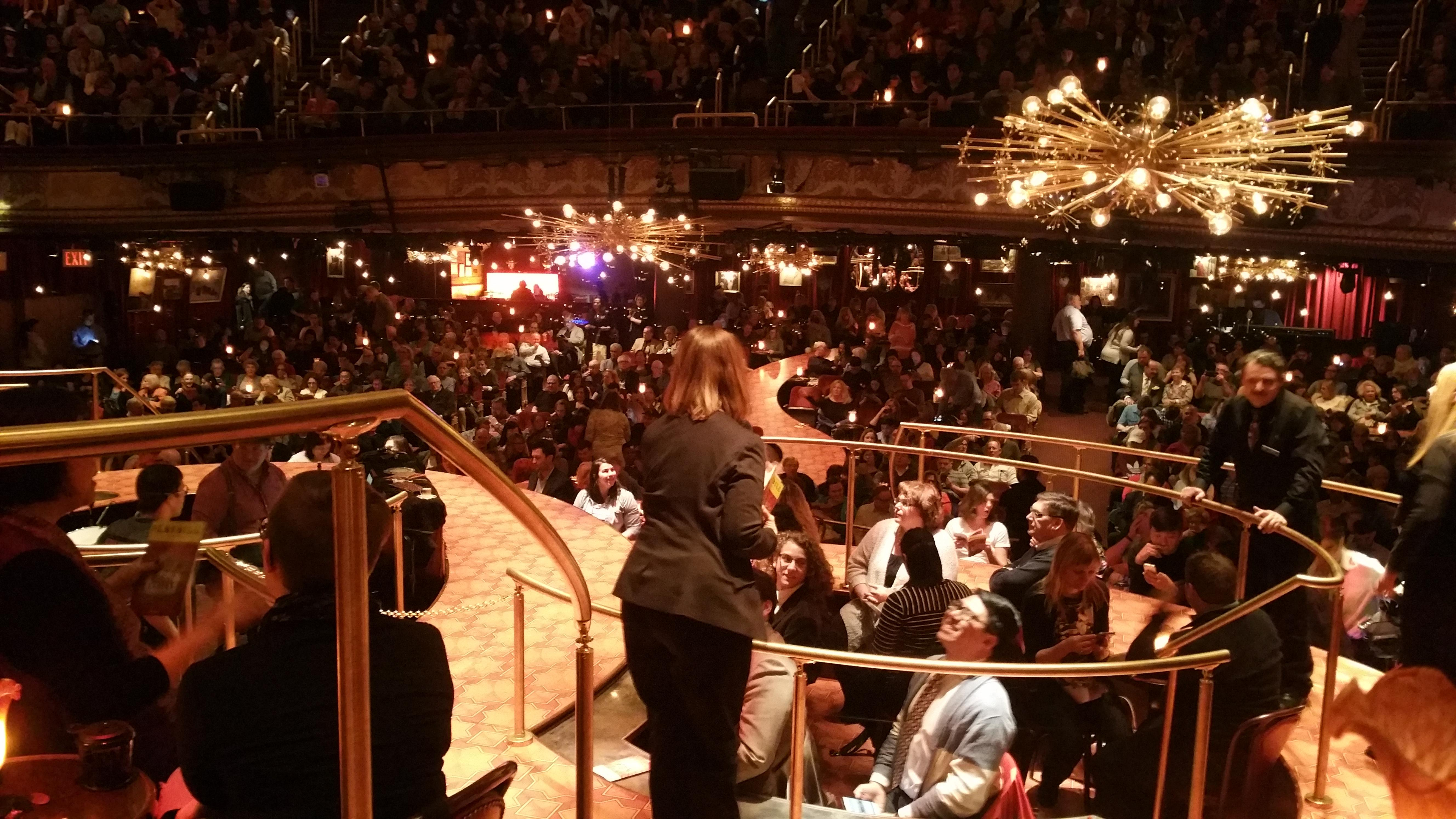 Imperial Theatre Section Onstage Banquettes Row BA Seat 11