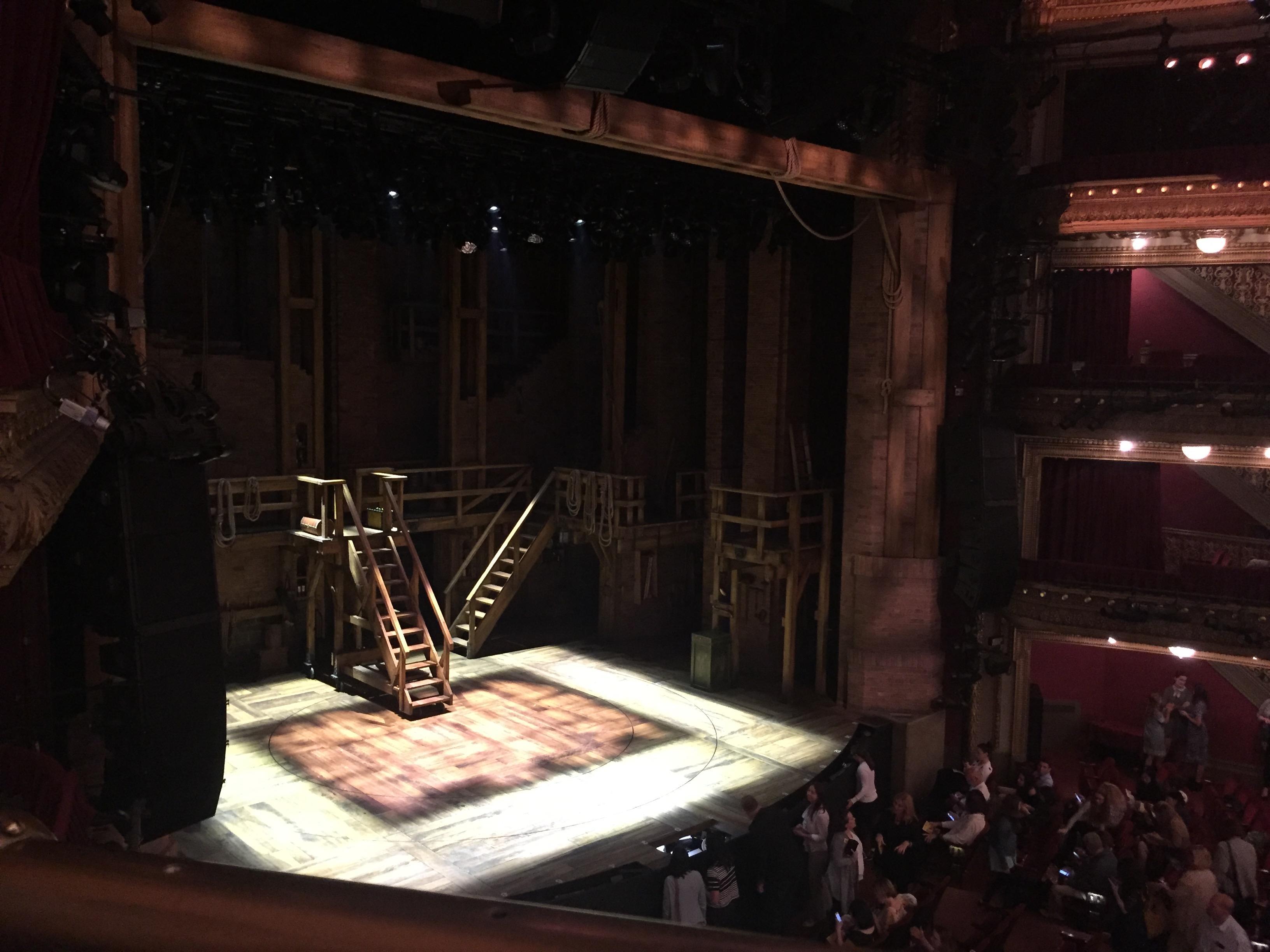 CIBC Theatre Section Mezzanine L Row A Seat 17