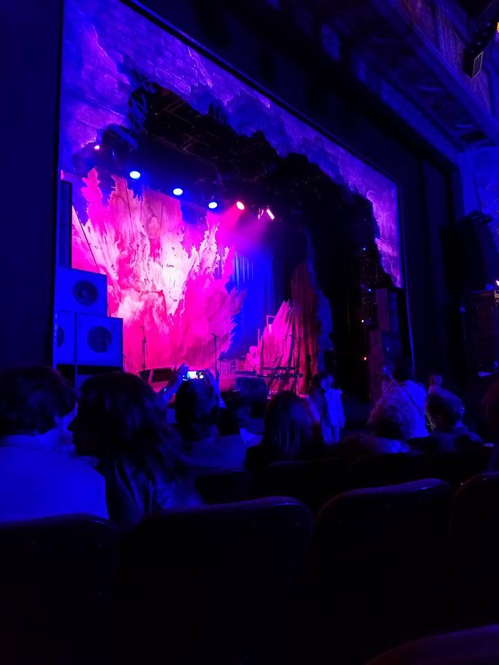 Hollywood Pantages Theatre Section Orchestra LC Row E Seat 309