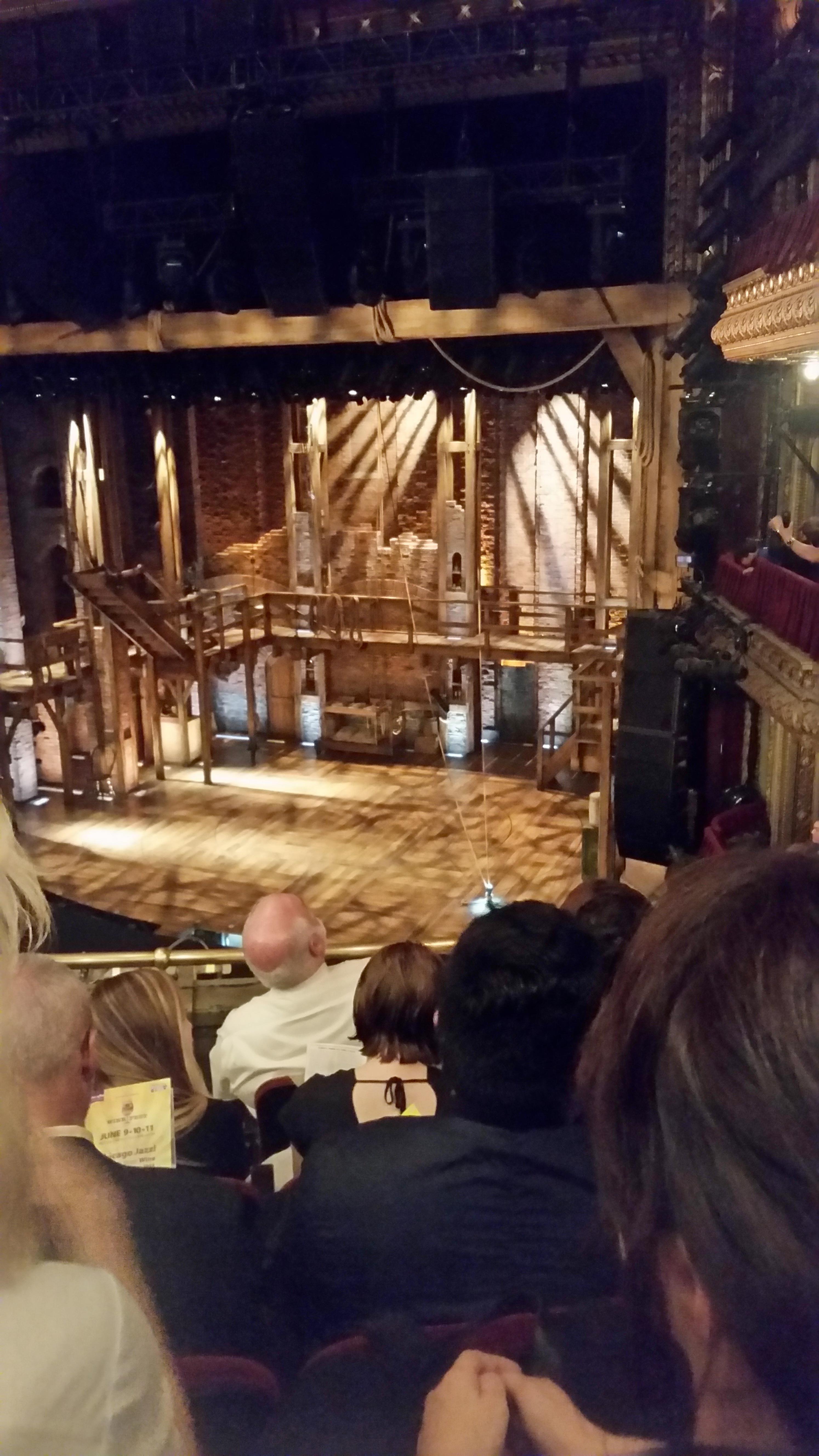 CIBC Theatre Section Mezzanine R Row E Seat 12