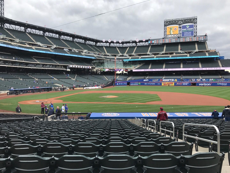Citi Field Section 114 Row 20 Seat 17