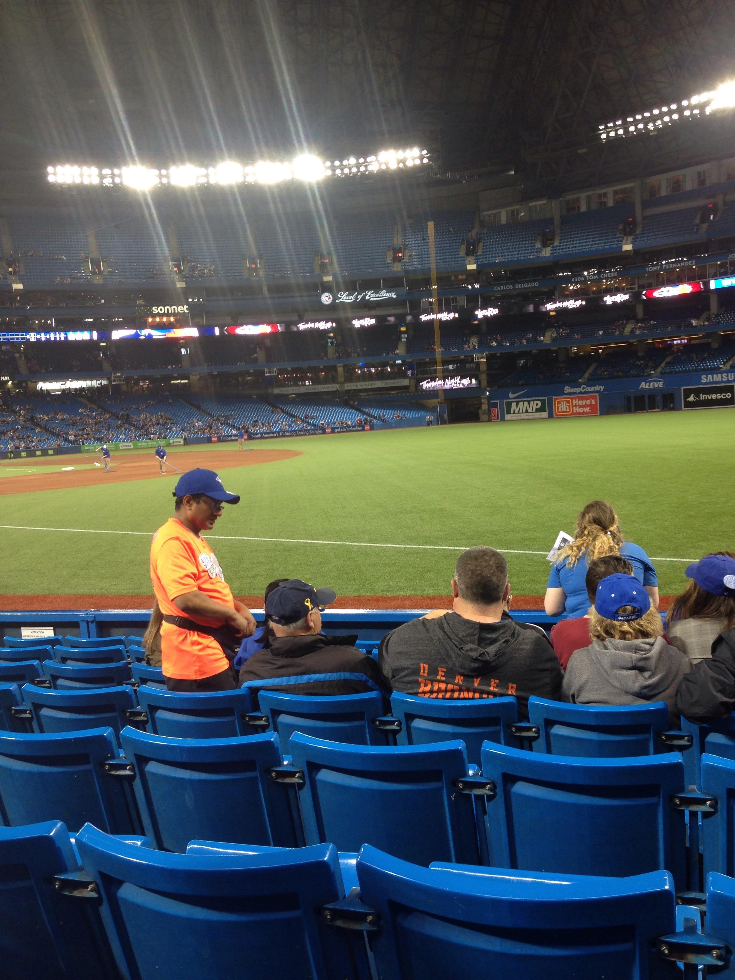 Rogers Centre Section 113AL Row 5