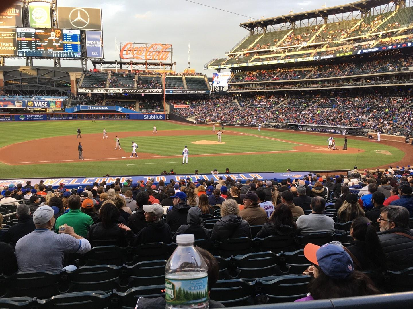 Citi Field Section 122 Row 23 Seat 11