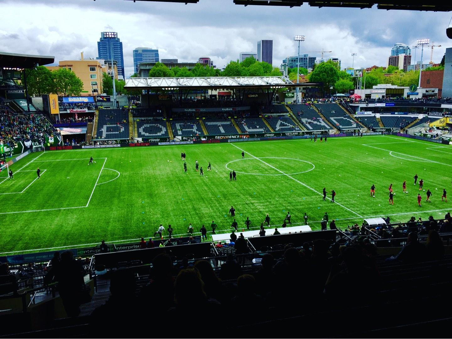Providence Park Section 215 Row Q Seat 4,5