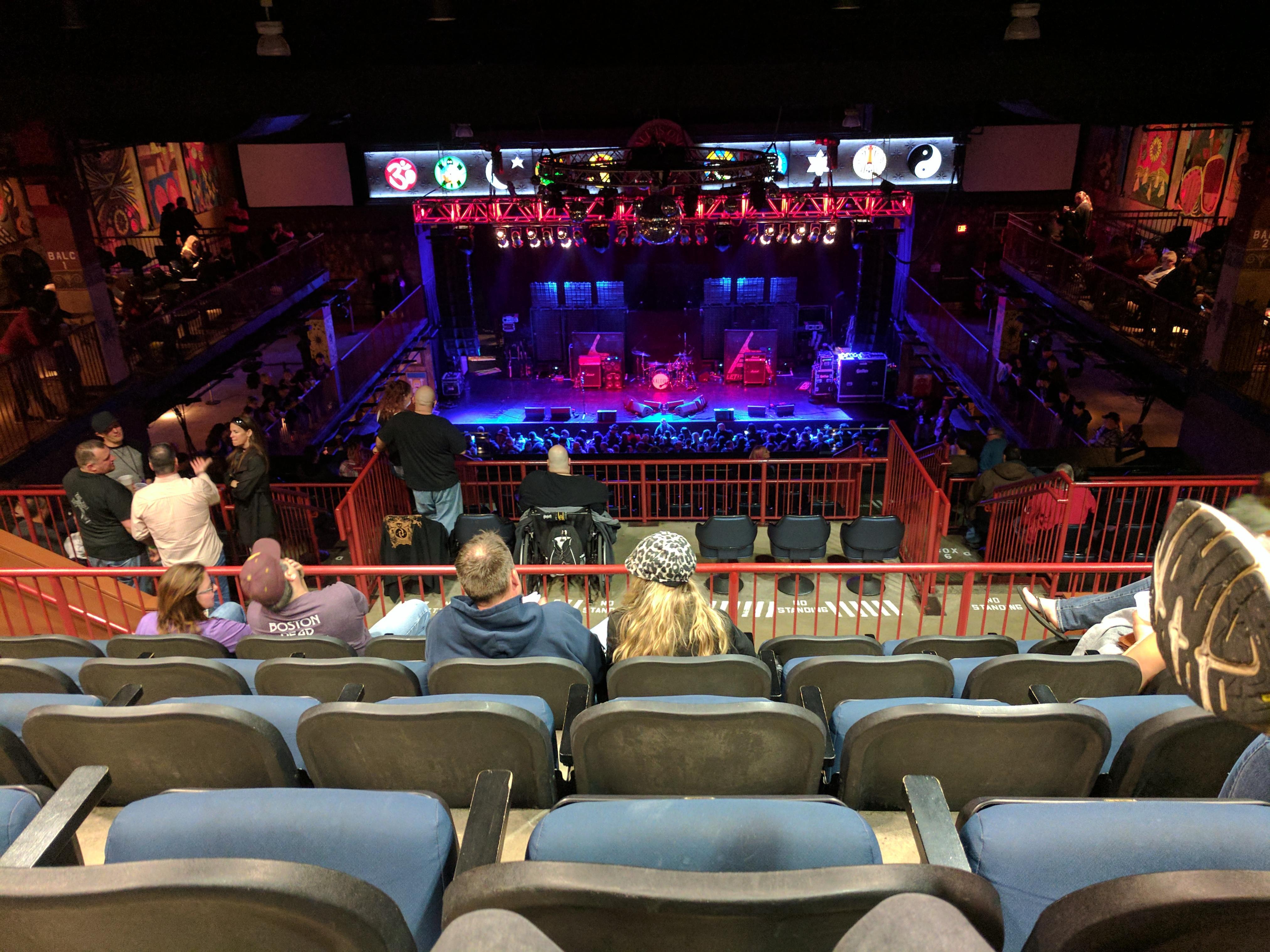 House Of Blues - Boston Section Stadium Row E Seat 312