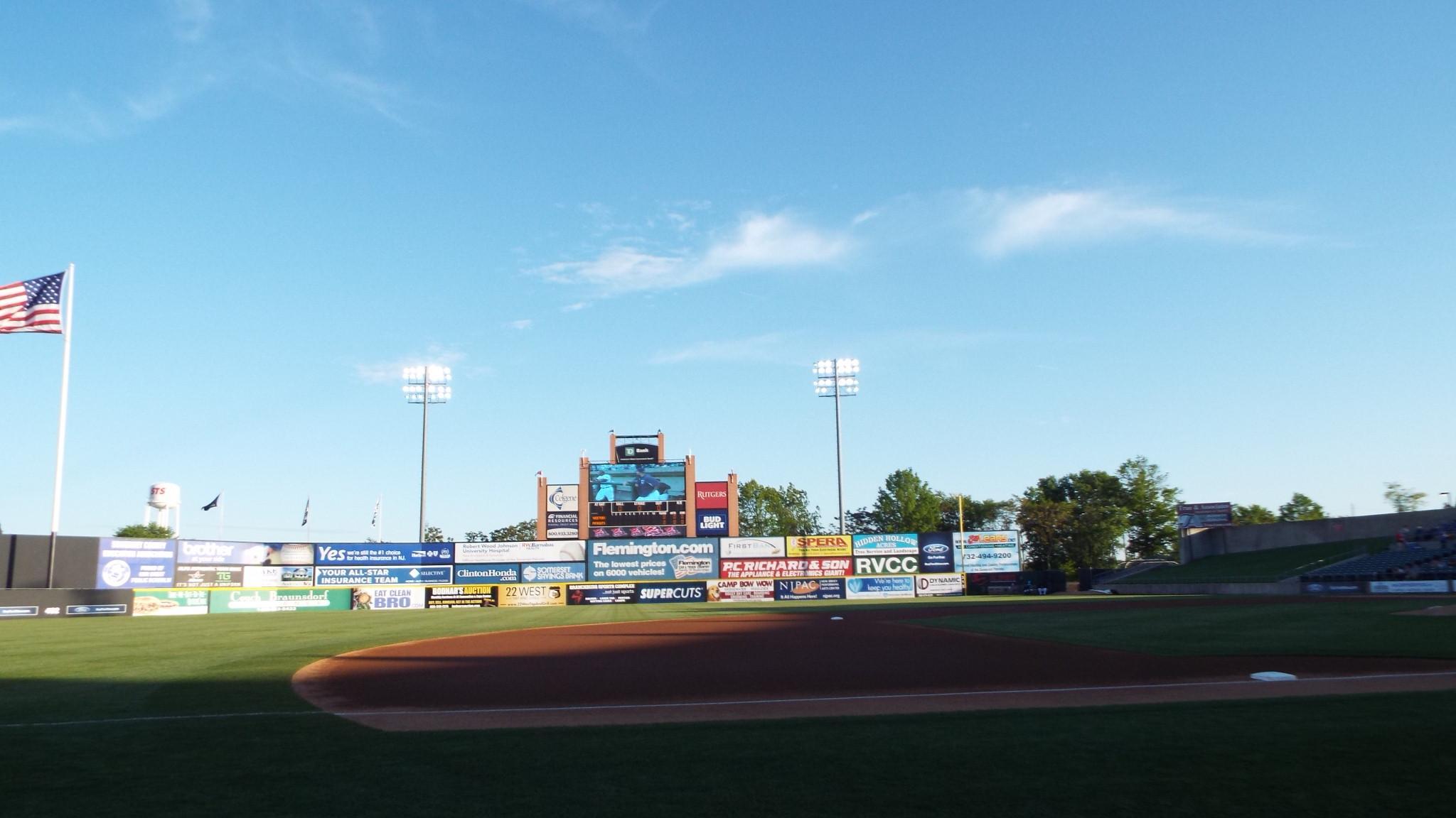 TD Bank Ballpark Section 118 Row AA Seat 1