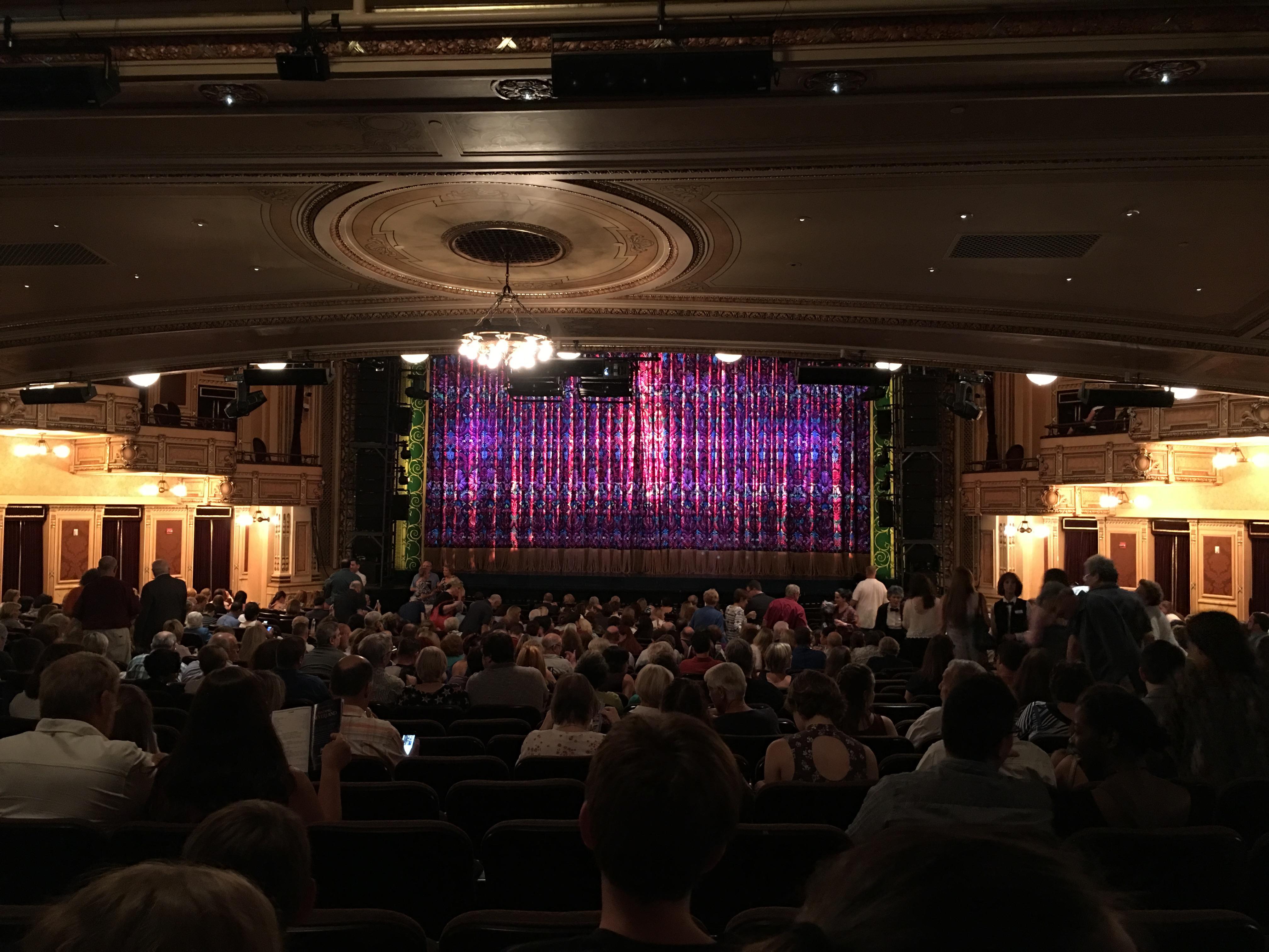 Hippodrome Theatre Section Center Orchestra Row CC Seat 113