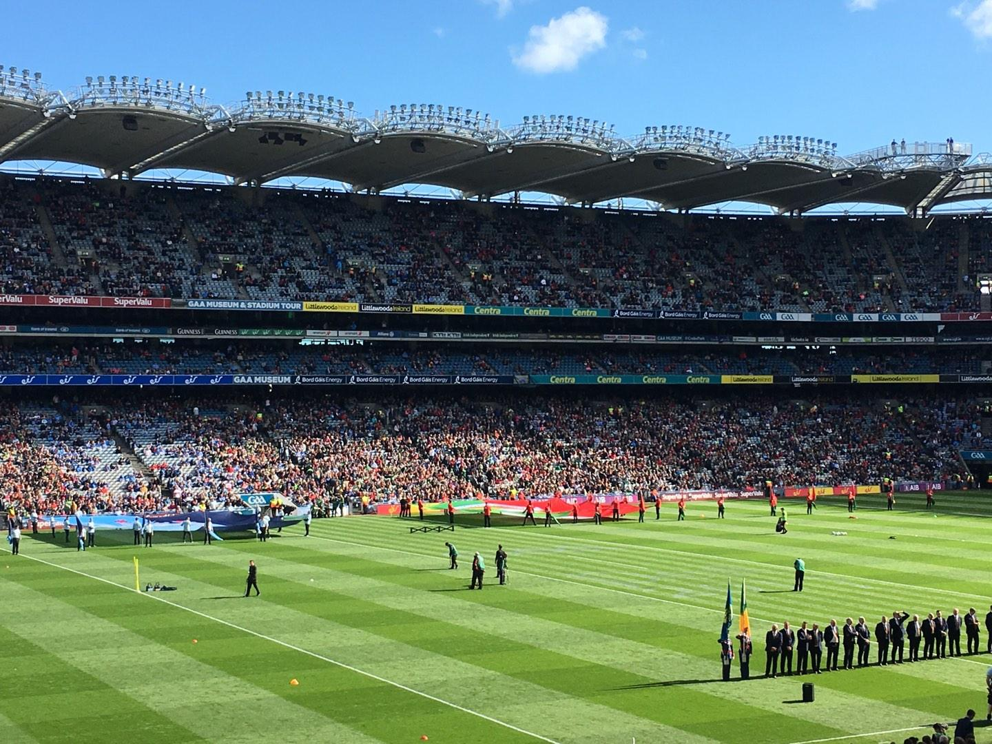 Croke Park Section 335 Row RR Seat 20