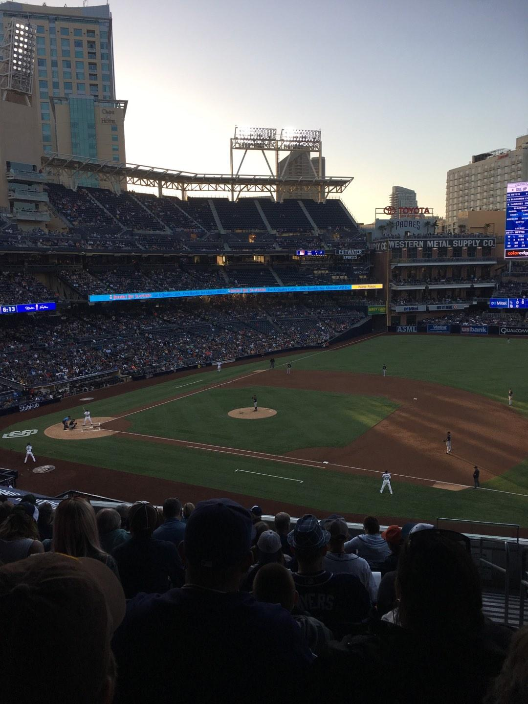 PETCO Park Section 211 Row 12 Seat 11
