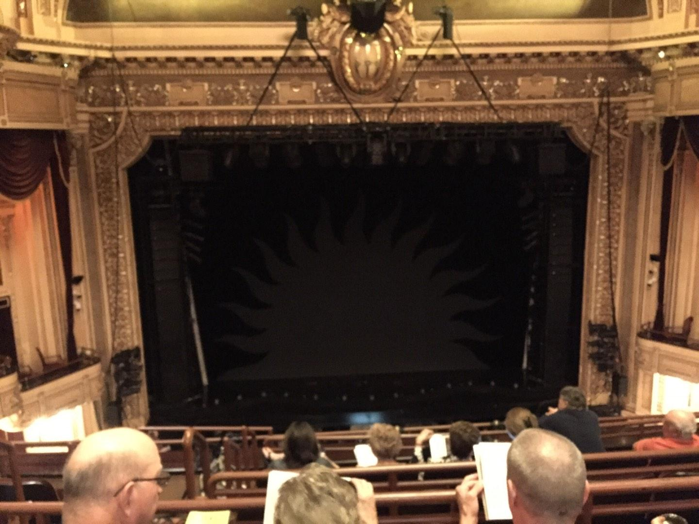 Hippodrome Theatre Section Center Middle Balcony Row F Seat 307