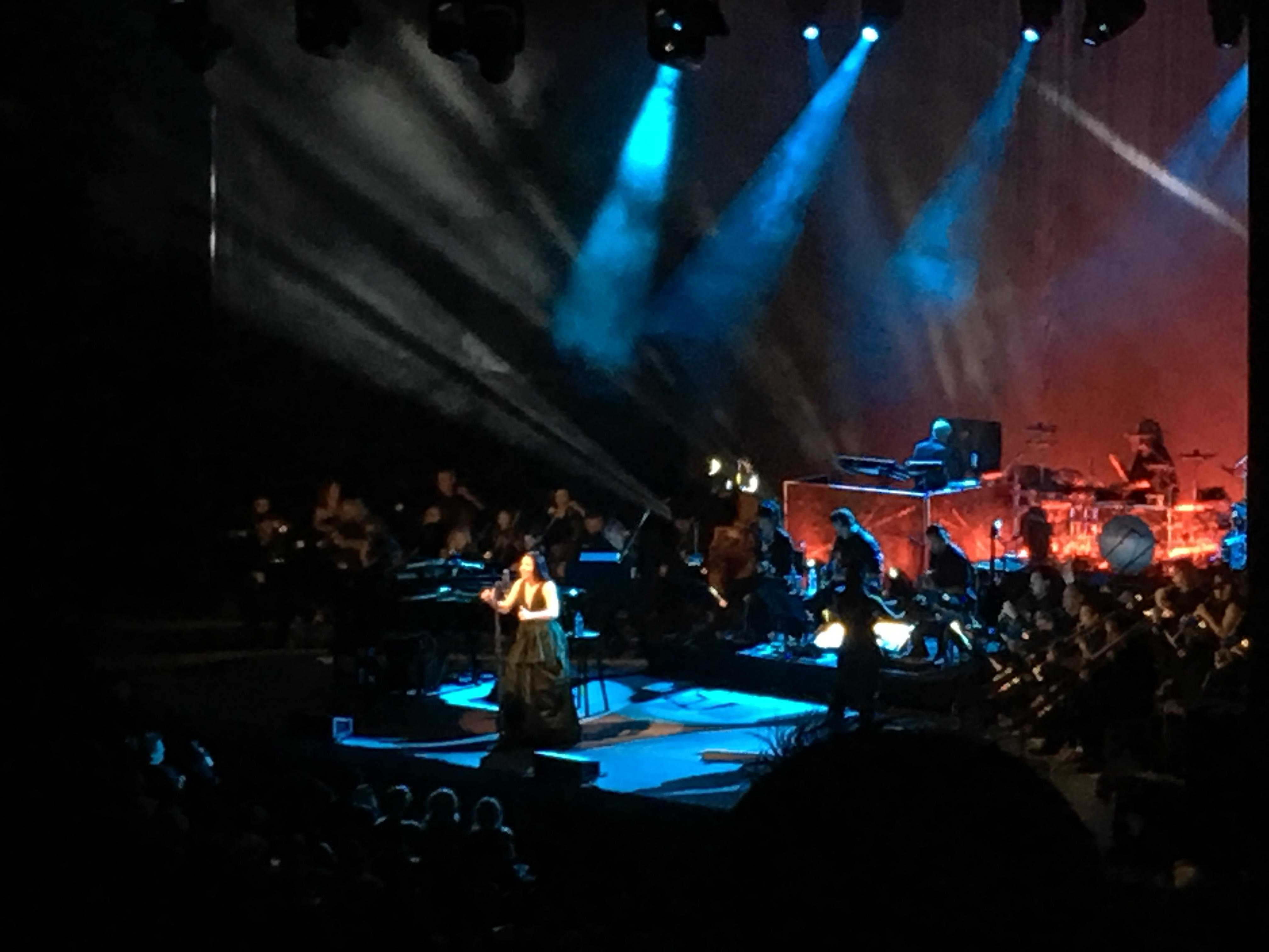 The Greek Theatre Section South Terrace R2 Row G Seat 26