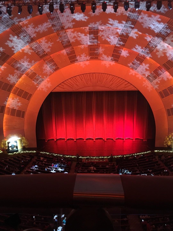 Radio City Music Hall Section 3rd Mezzanine 4  Row A Seat 407