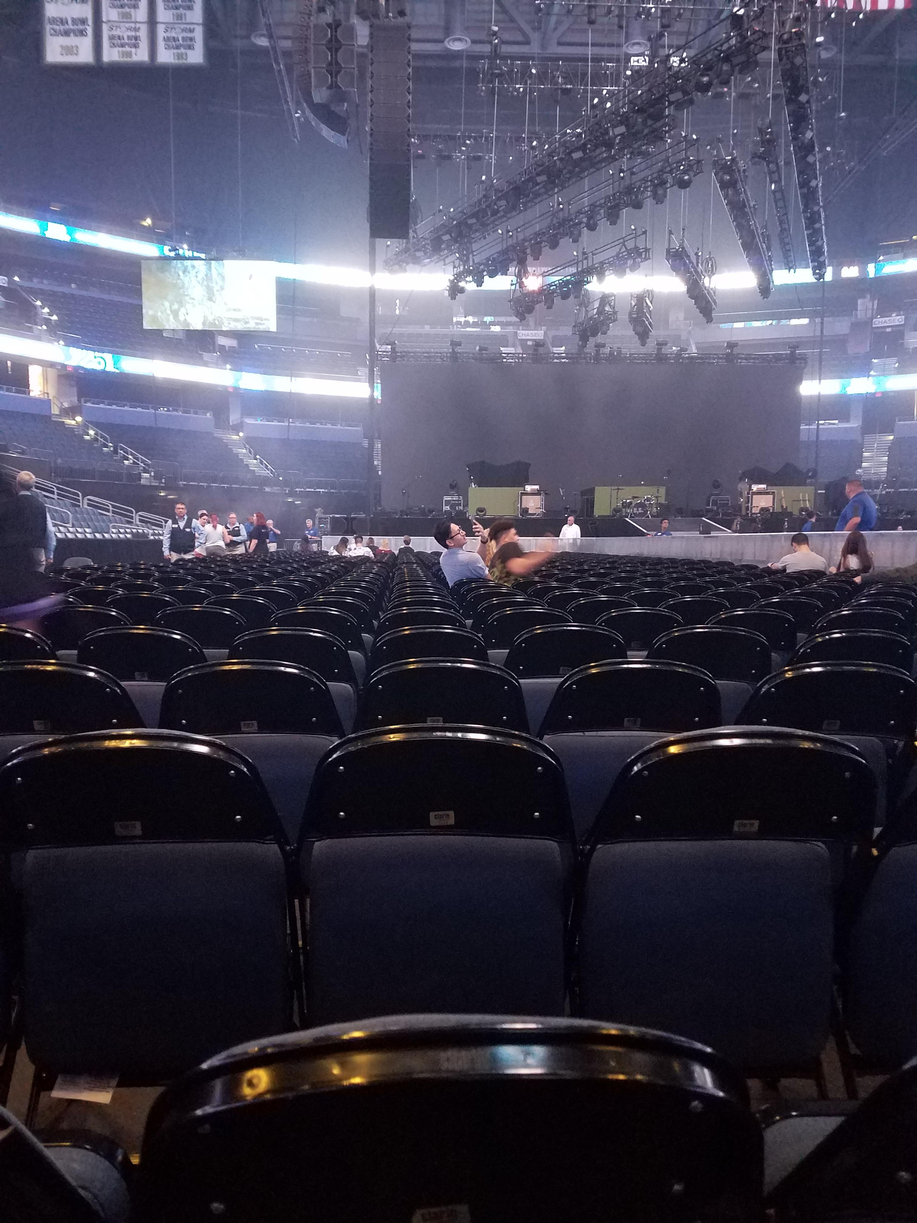 Amalie Arena Section 6 Row 15 Seat 11