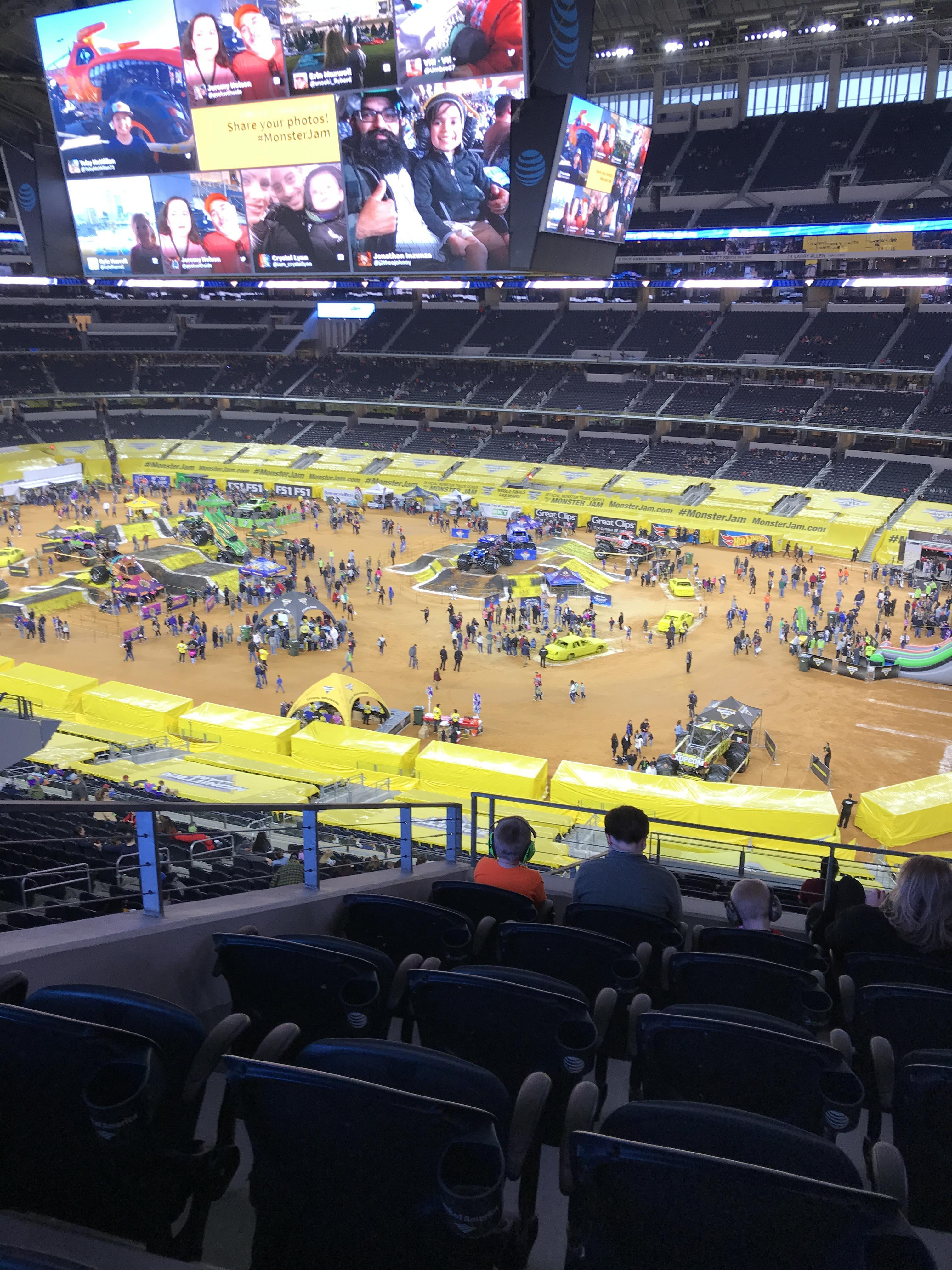 AT&T Stadium Section 305 Row 16 Seat 15