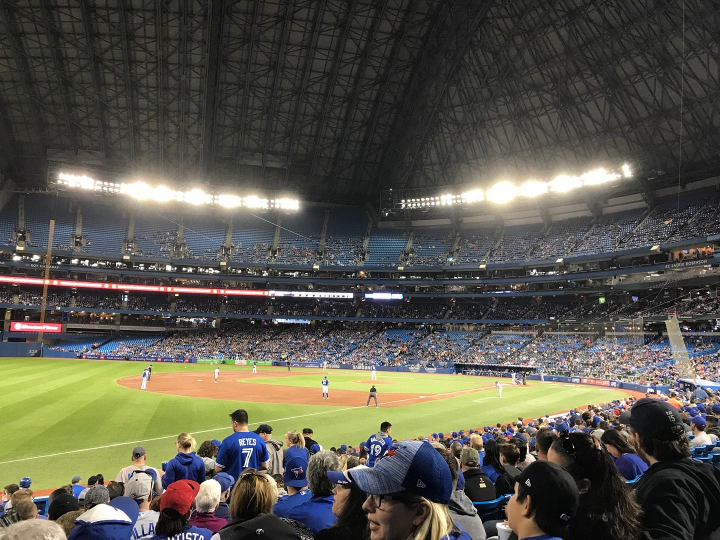 Rogers Centre Section 130BL Row 20 Seat 107
