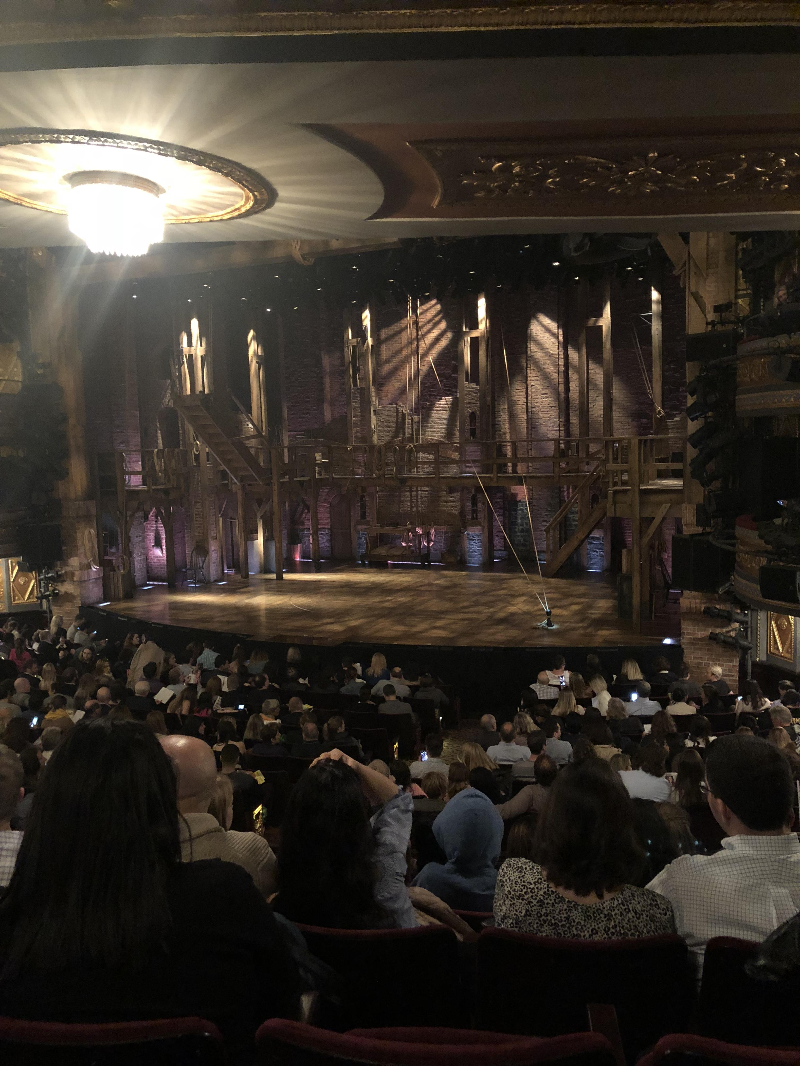 Richard Rodgers Theatre Section Orchestra L Row R Seat 16