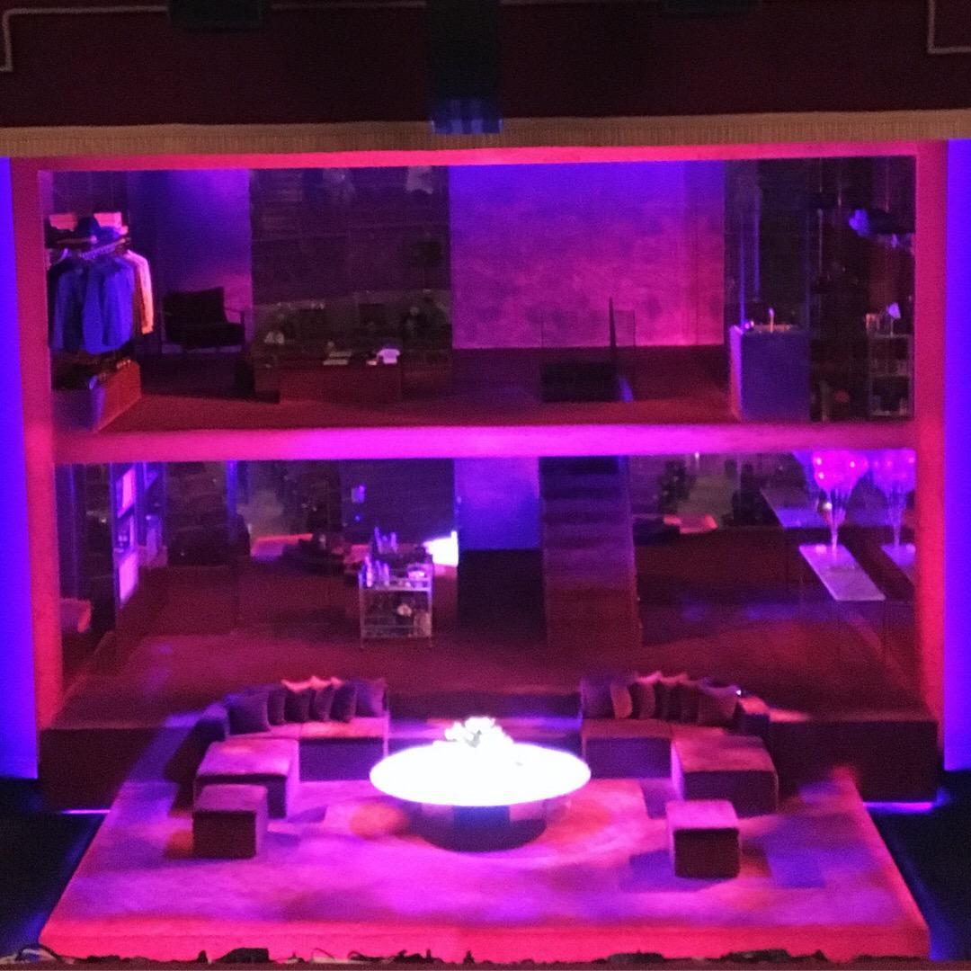 Booth Theatre Section Mezzanine C Row C Seat 108
