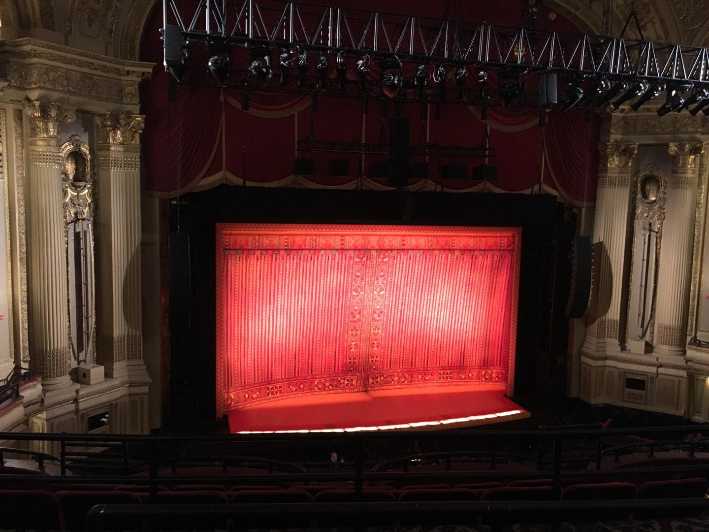 Boston Opera House Section MEZZLC Row C Seat 125