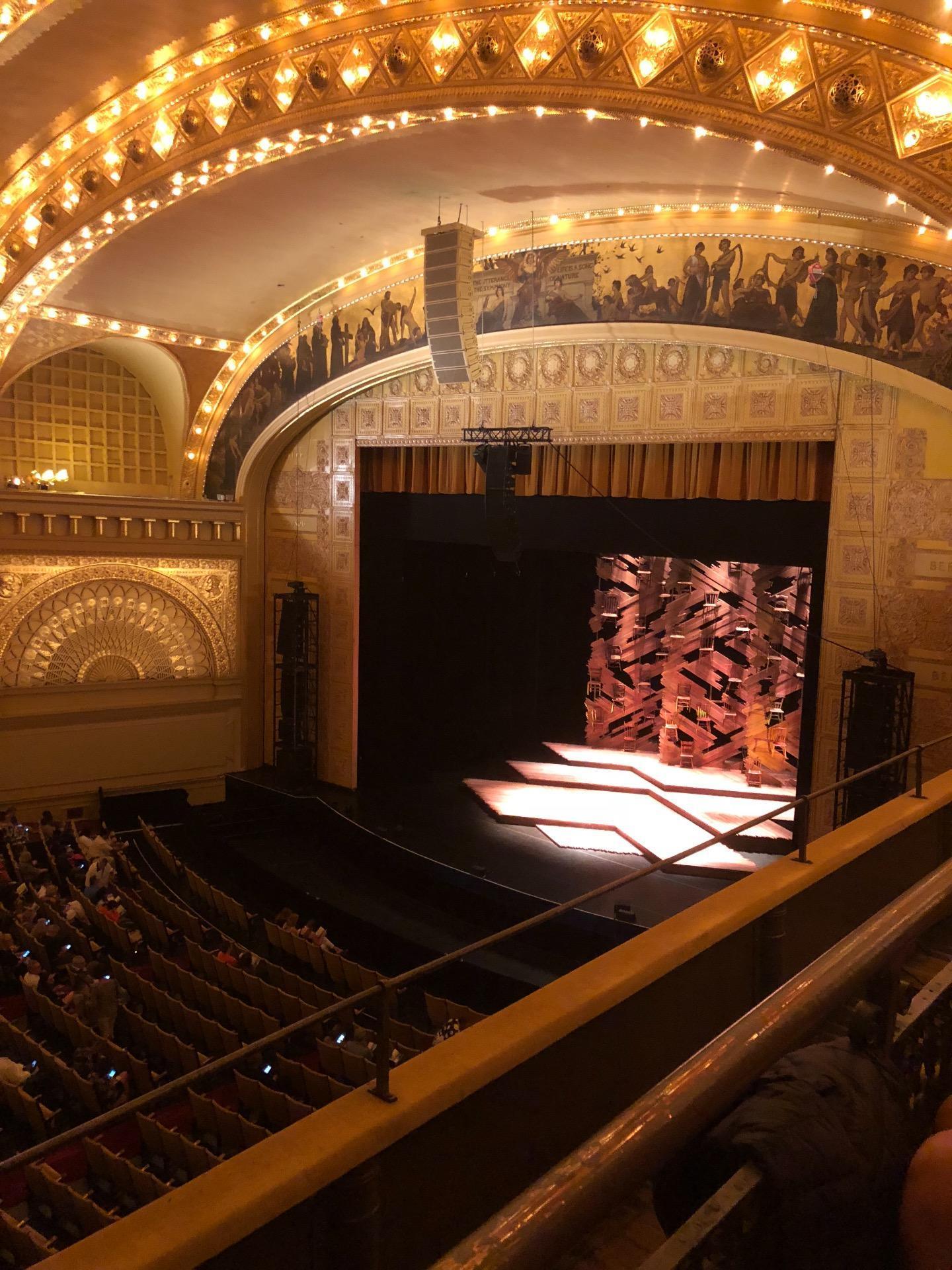 Auditorium Theatre Section Fbl-r Row B Seat 105