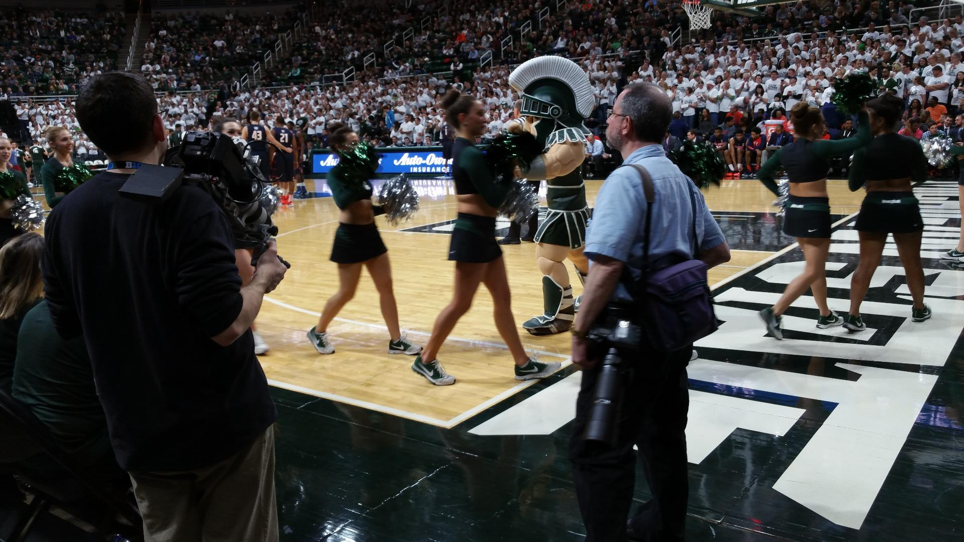 Breslin Center Section 124 Row 2 Seat 2