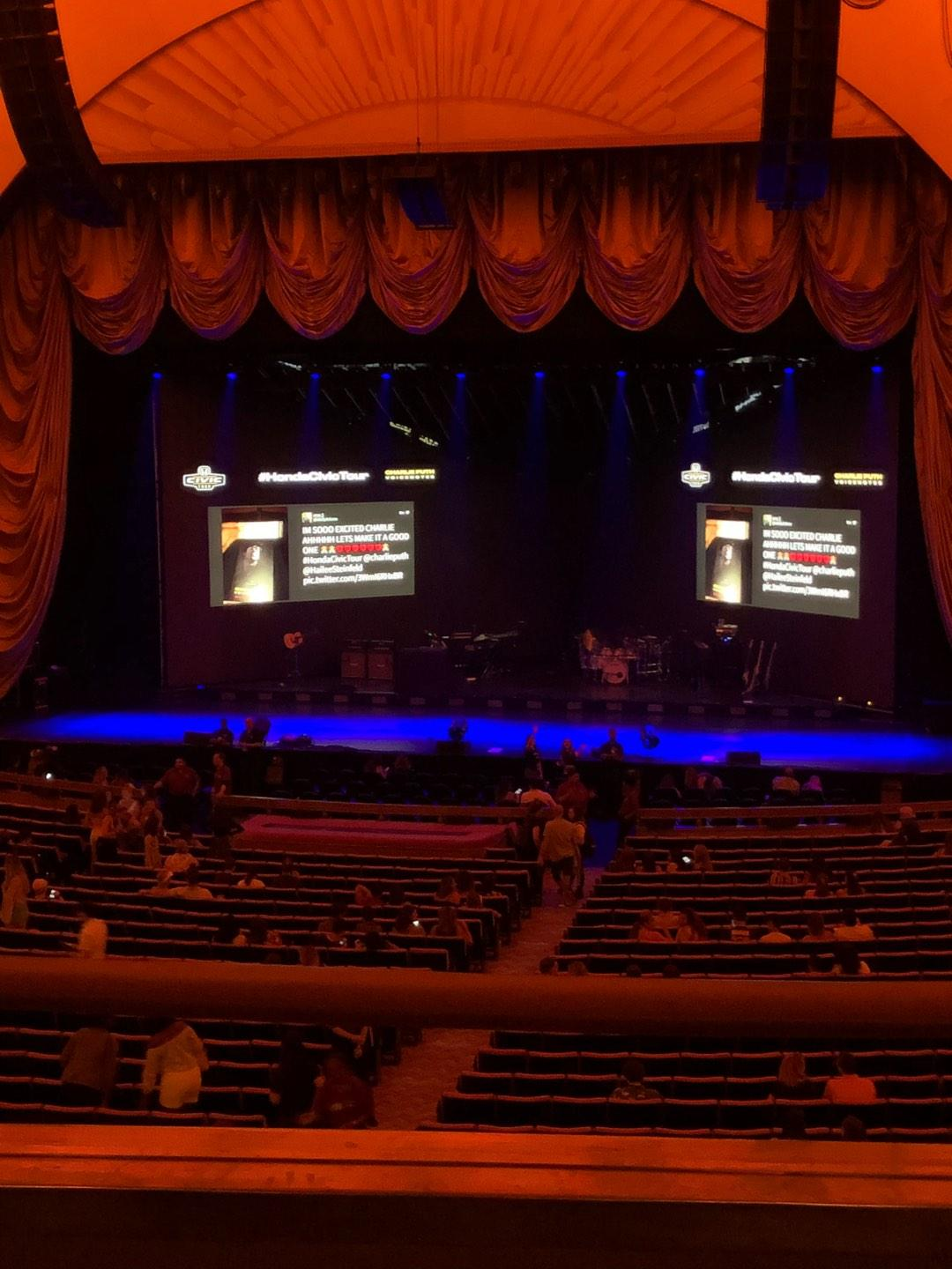 Radio City Music Hall Section 1st Mezzanine 3 Row B Seat 305