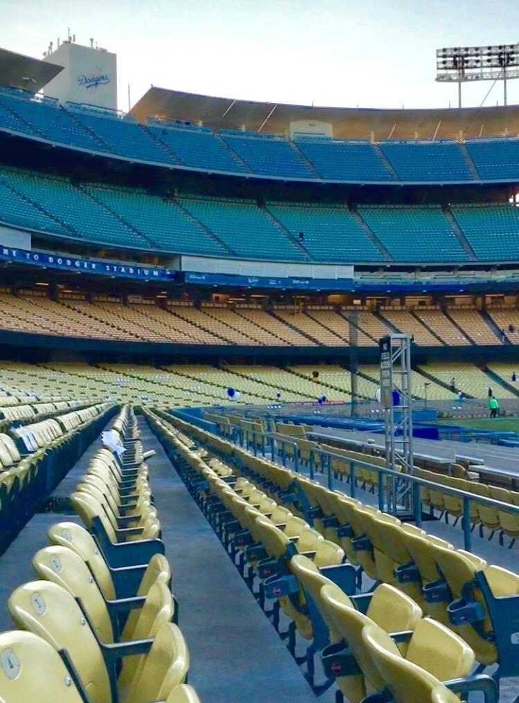 Dodger Stadium Section 36FD Row C Seat 8