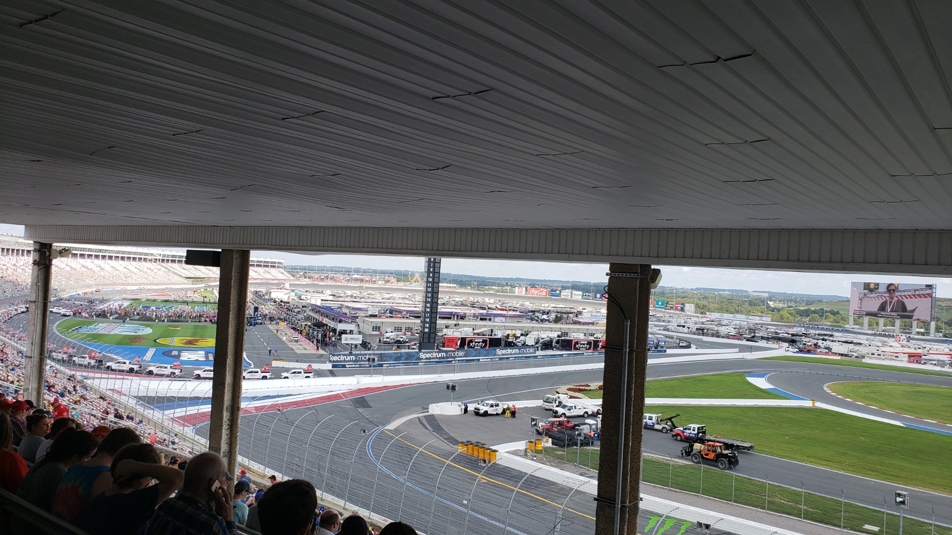 Charlotte Motor Speedway Section GNT E Row 34 Seat 21